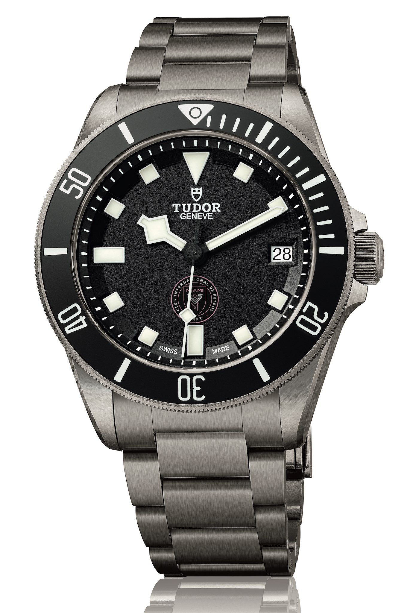 David Beckham Unique Tudor Pelagos Inter Miami