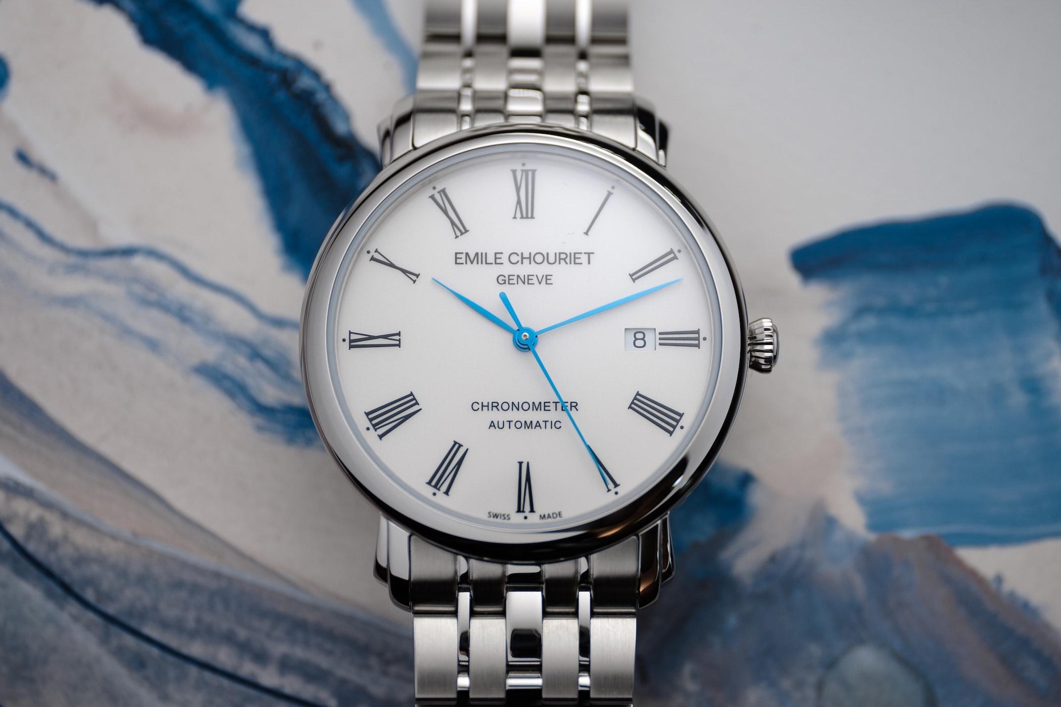 Emile Chouriet Lac Leman Classic Chronometer