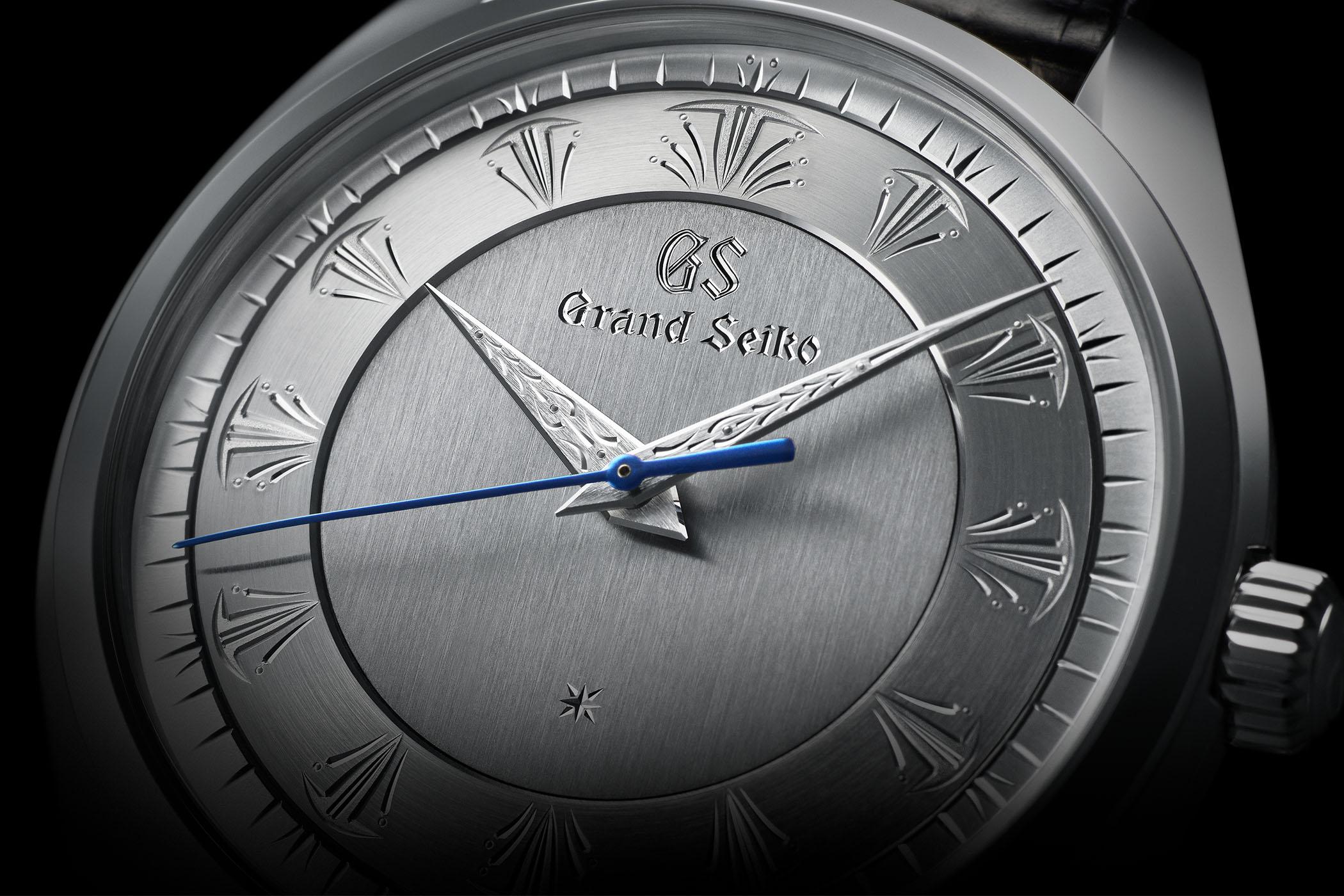 Grand Seiko 60th Anniversary Limited Edition Shizukuishi Hand-Engraved SBGW263