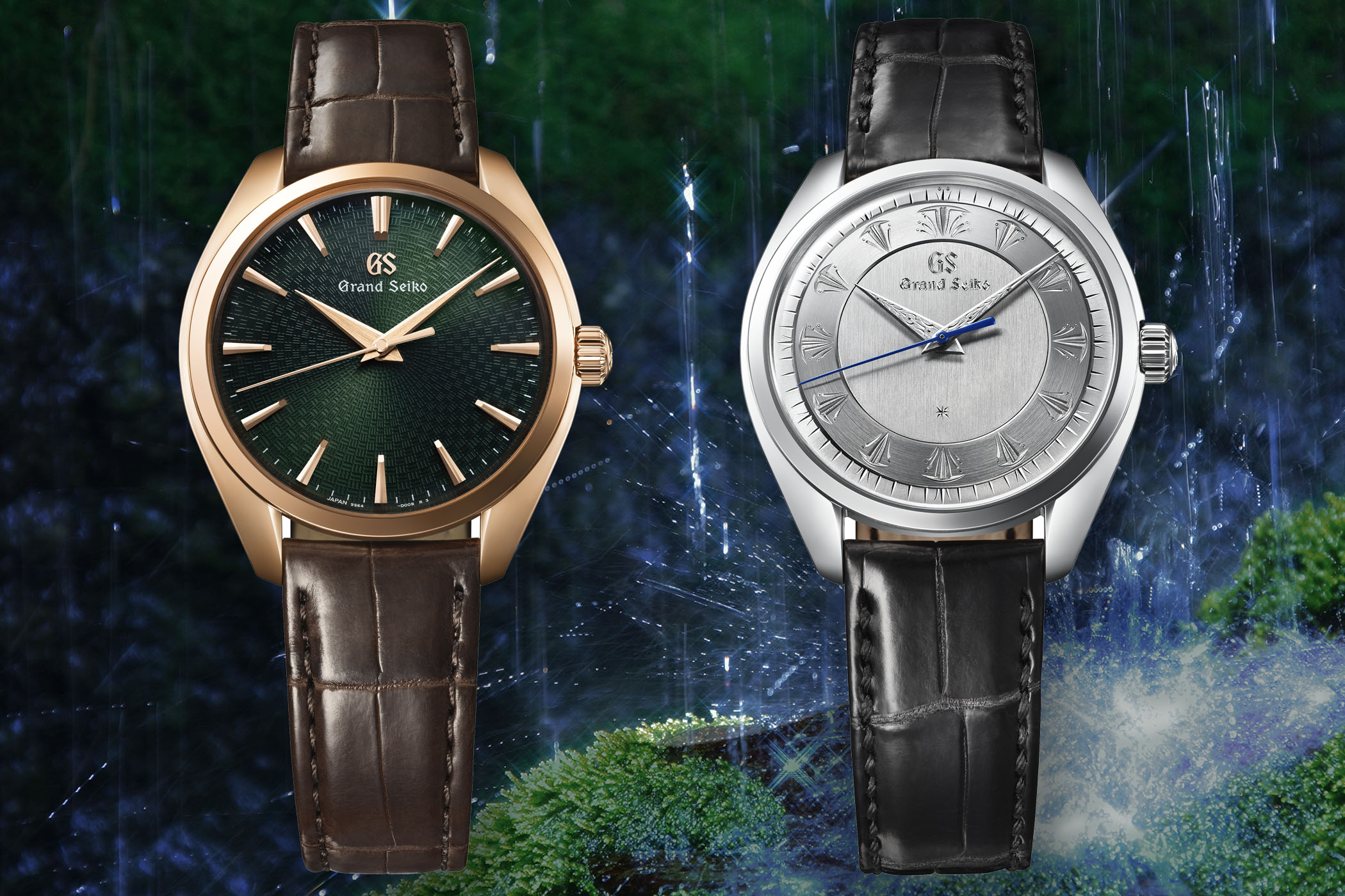 Grand Seiko 60th Anniversary Limited Edition Shizukuishi SBGW263 and SBGW264