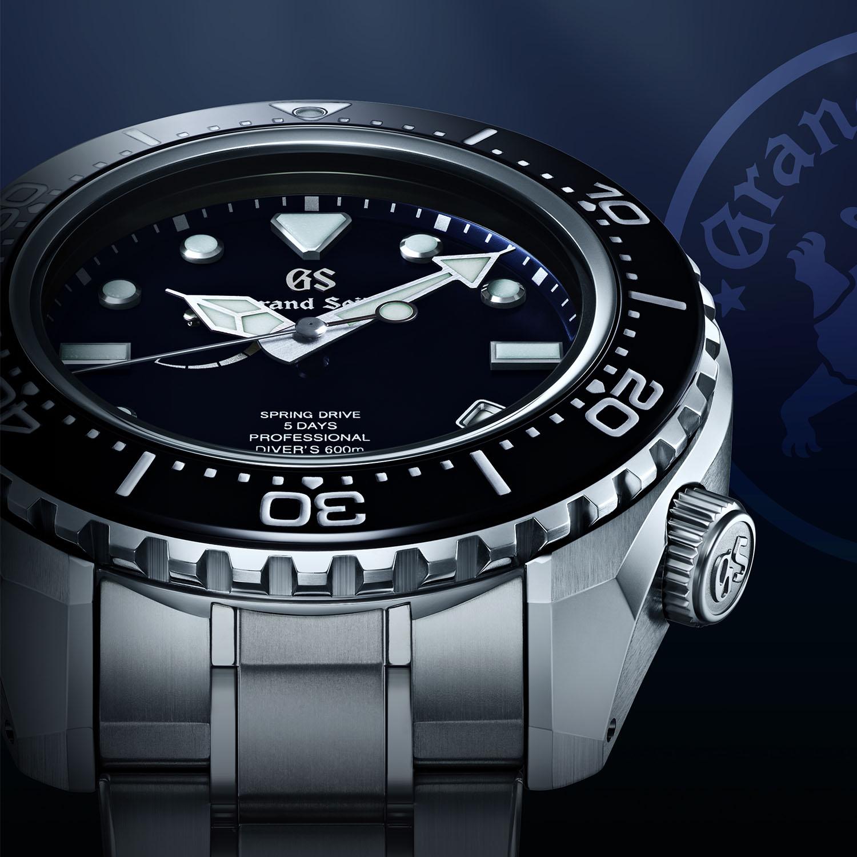 Grand Seiko Professional Diver 600m SLGA001 Spring Drive 9RA5