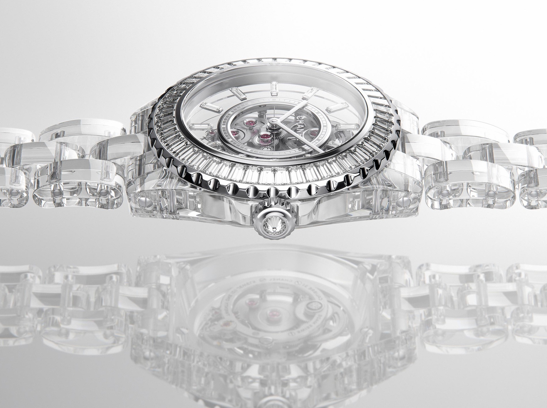 Chanel J12 X-RAY sapphire case bracelet