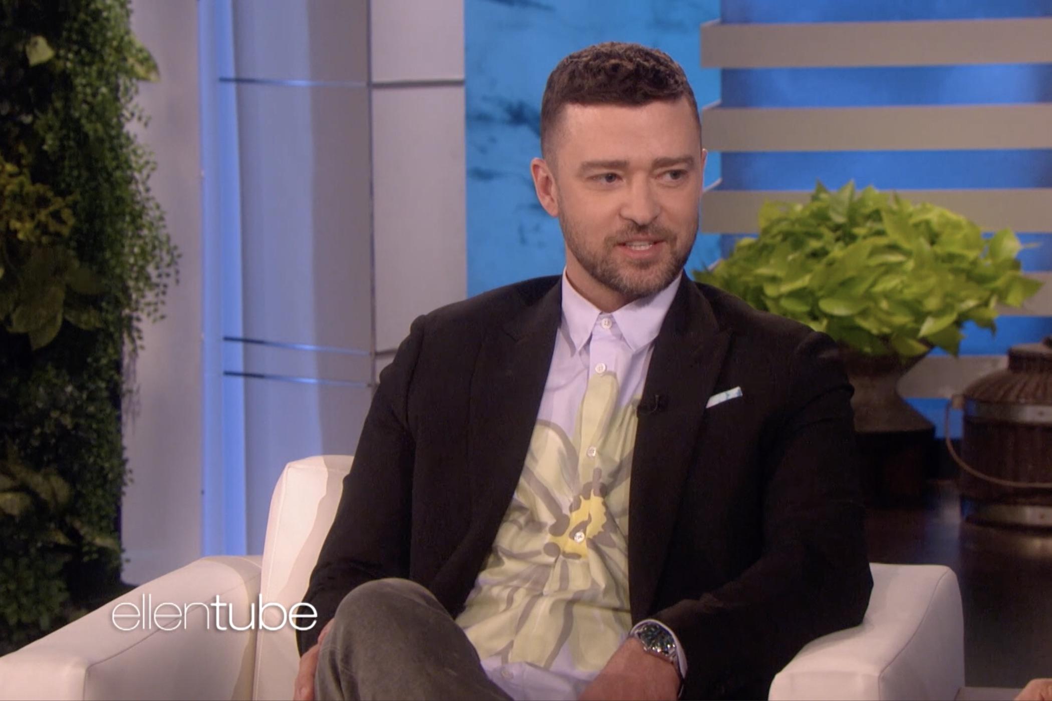 Justin Timberlake Rolex Milgauss Z Blue 116400GV The Ellen Show
