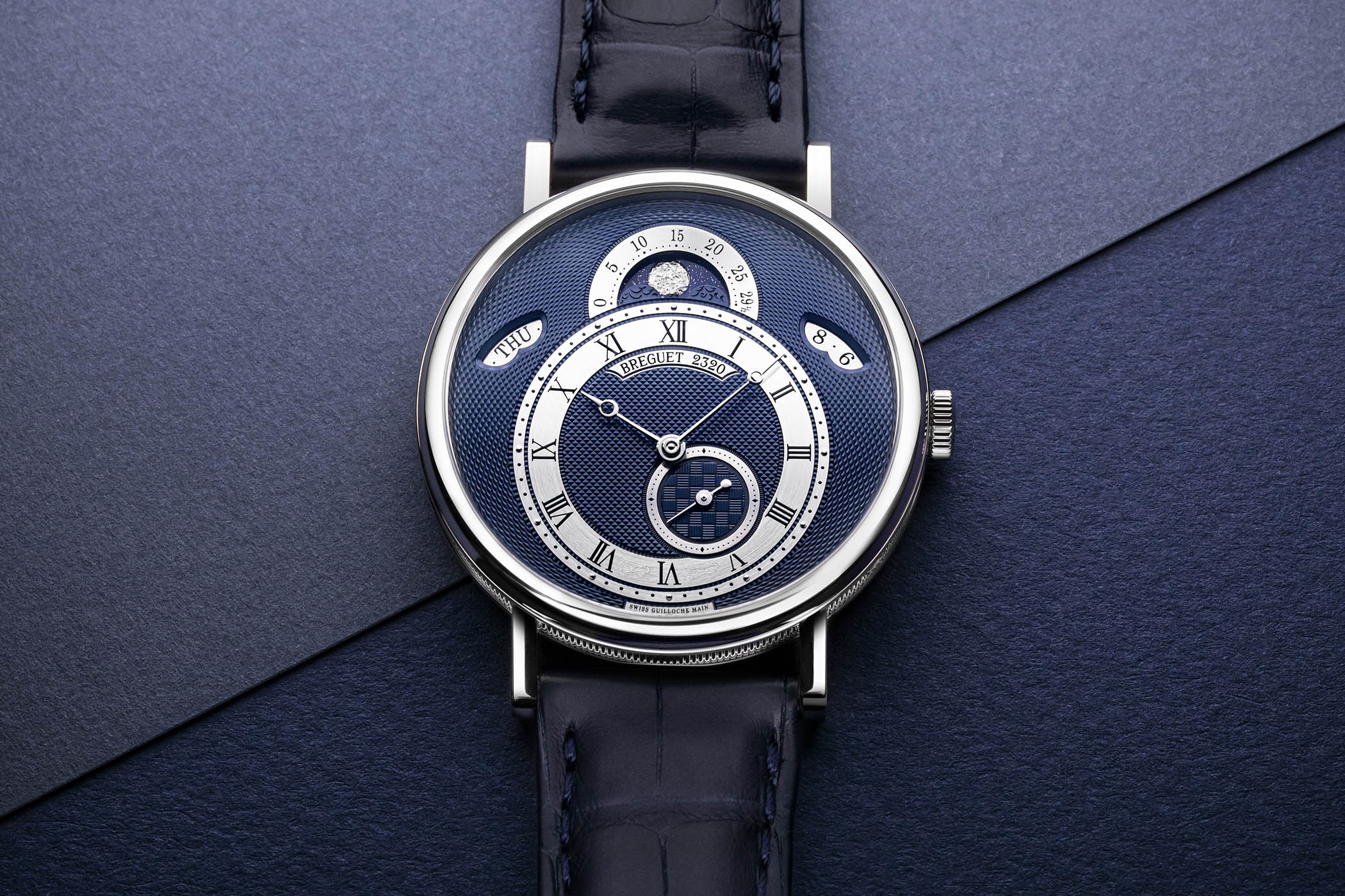 New 2020 Models Breguet Classique 7337 Calendar and Moon