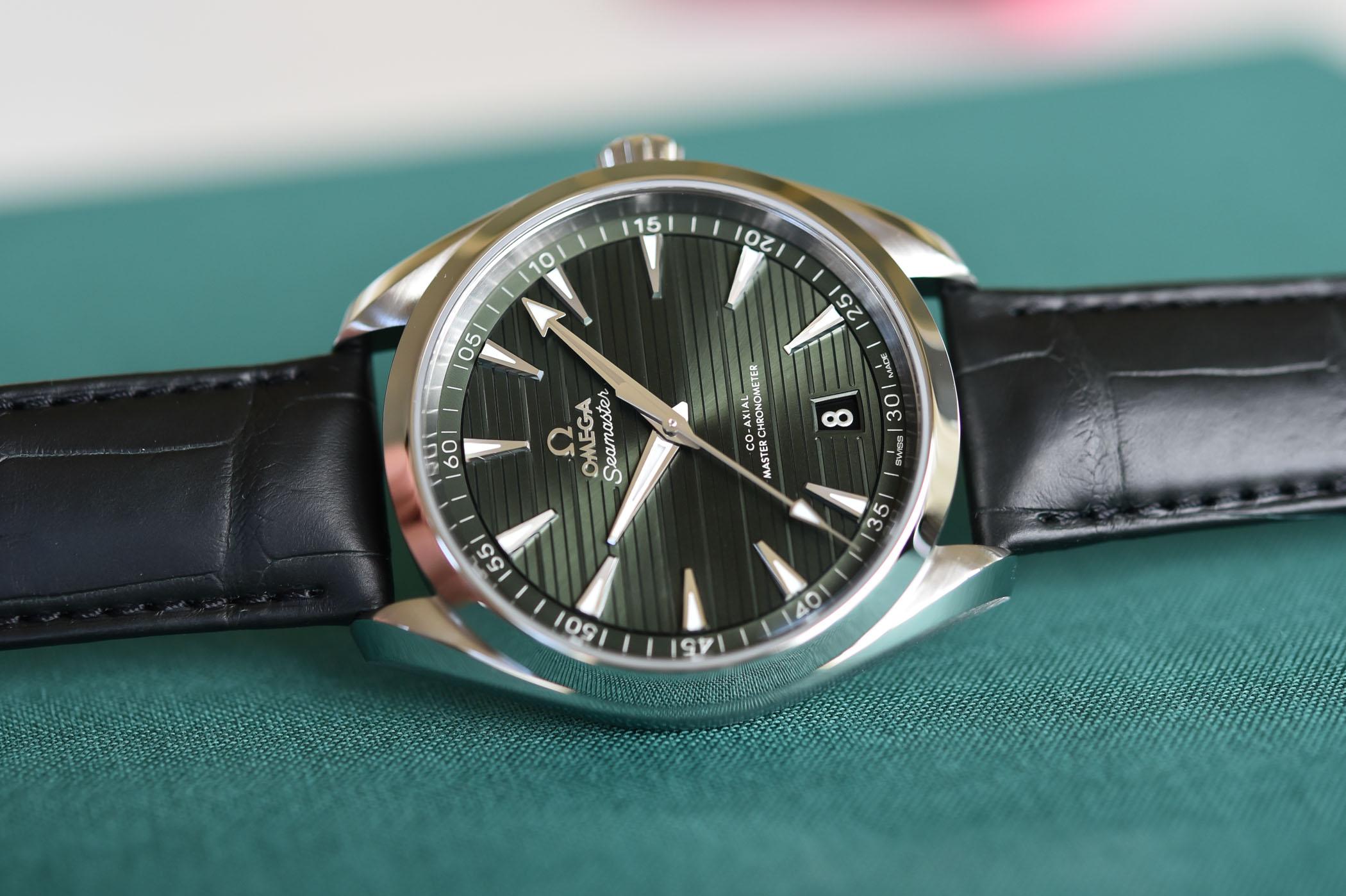 Omega Seamaster Aqua Terra 150m Master Chronometer 41mm Green Dial - 220.13.41.21.10.001