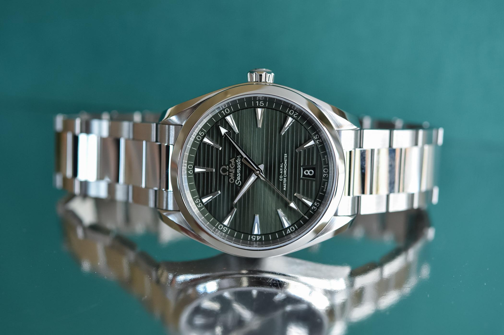 Omega Seamaster Aqua Terra 150m Master Chronometer 41mm Green Dial - 220.10.41.21.10.001