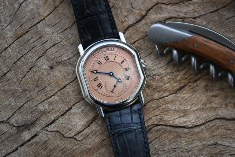 The Collector's Series - Frank's Daniel Roth Small Seconds Salmon Dial