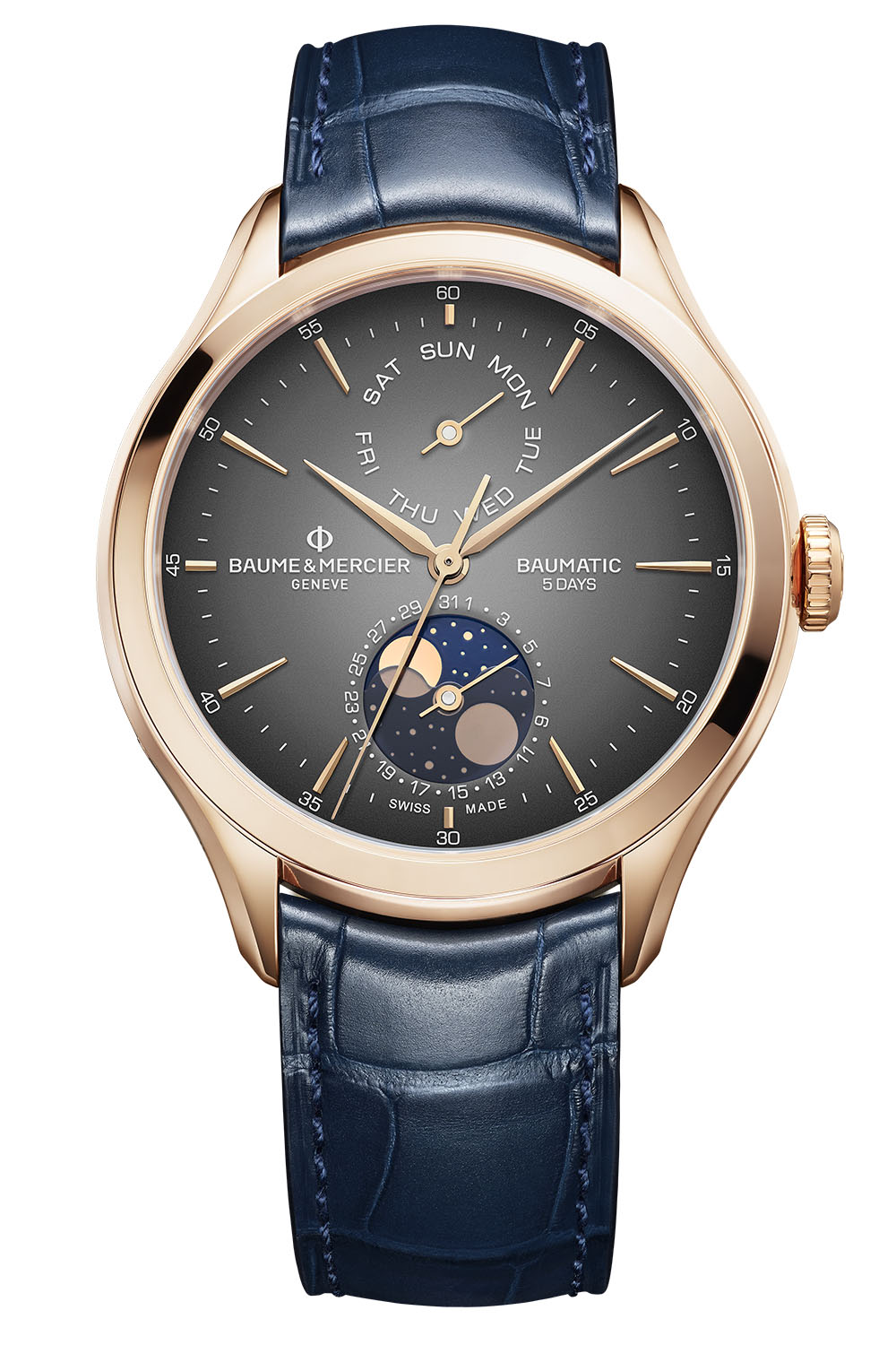 2020 Baume Mercier Baumatic Day-date moonphase - 1