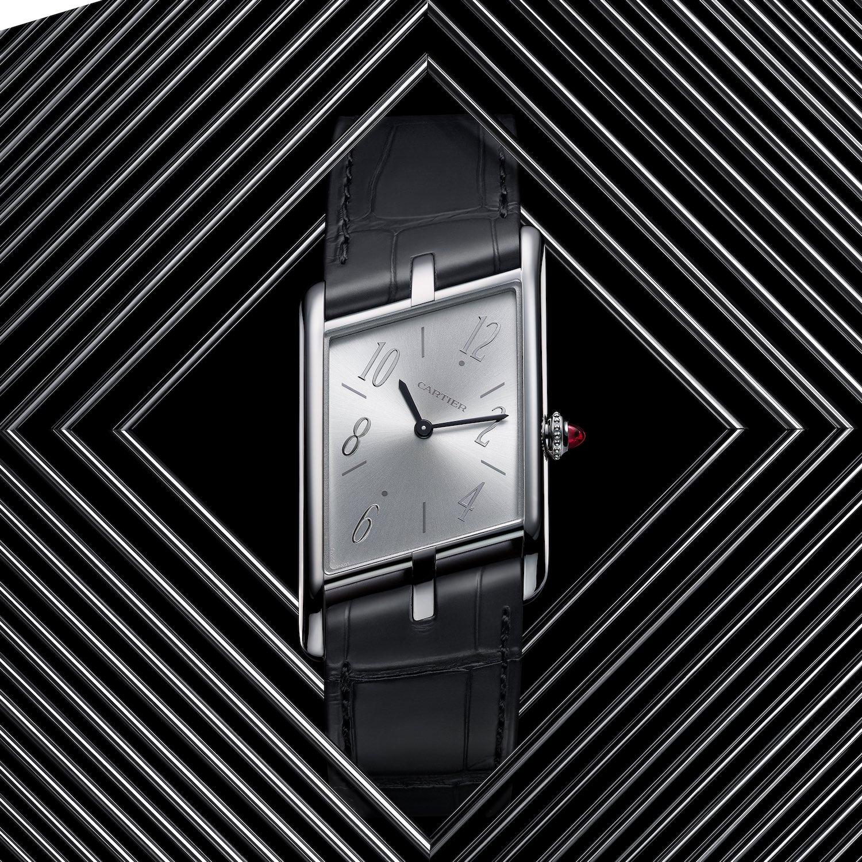 2020 Cartier Privé Tank Asymétrique