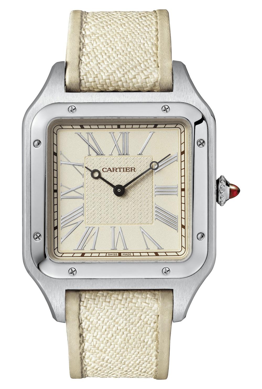 2020 Cartier Santos-Dumont hand-wound limited edition platinum La Demoiselle WGSA0036 - 2