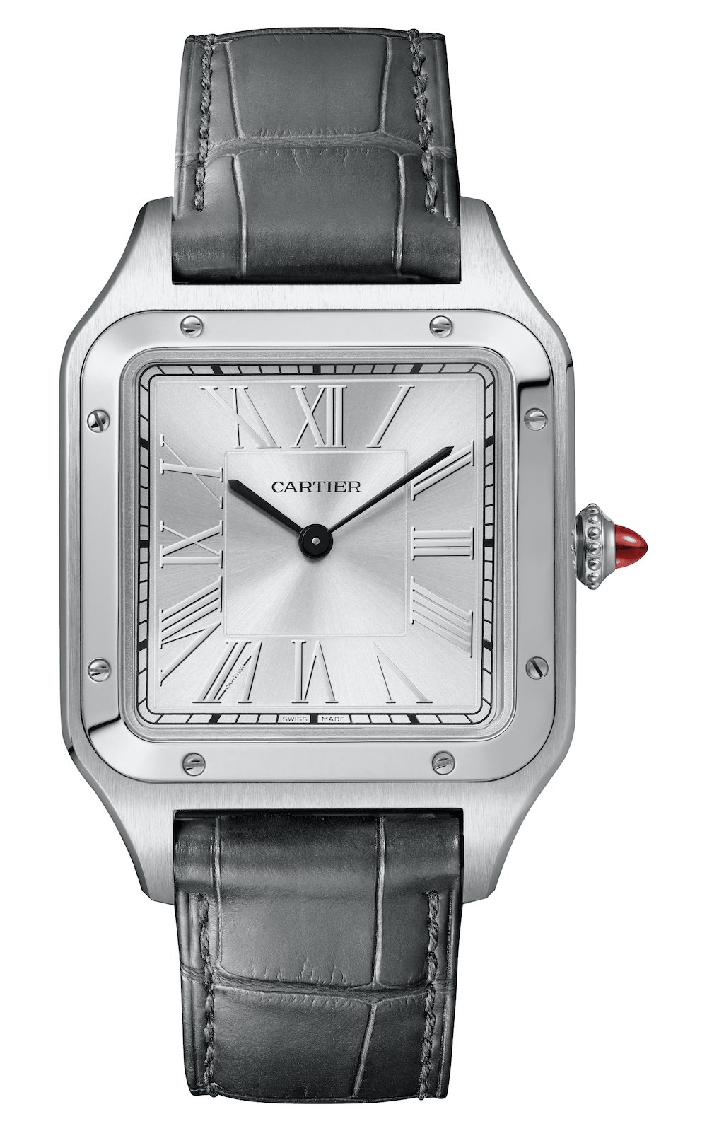 2020 Cartier Santos-Dumont hand-wound limited edition platinum la bresil WGSA0034 - 2