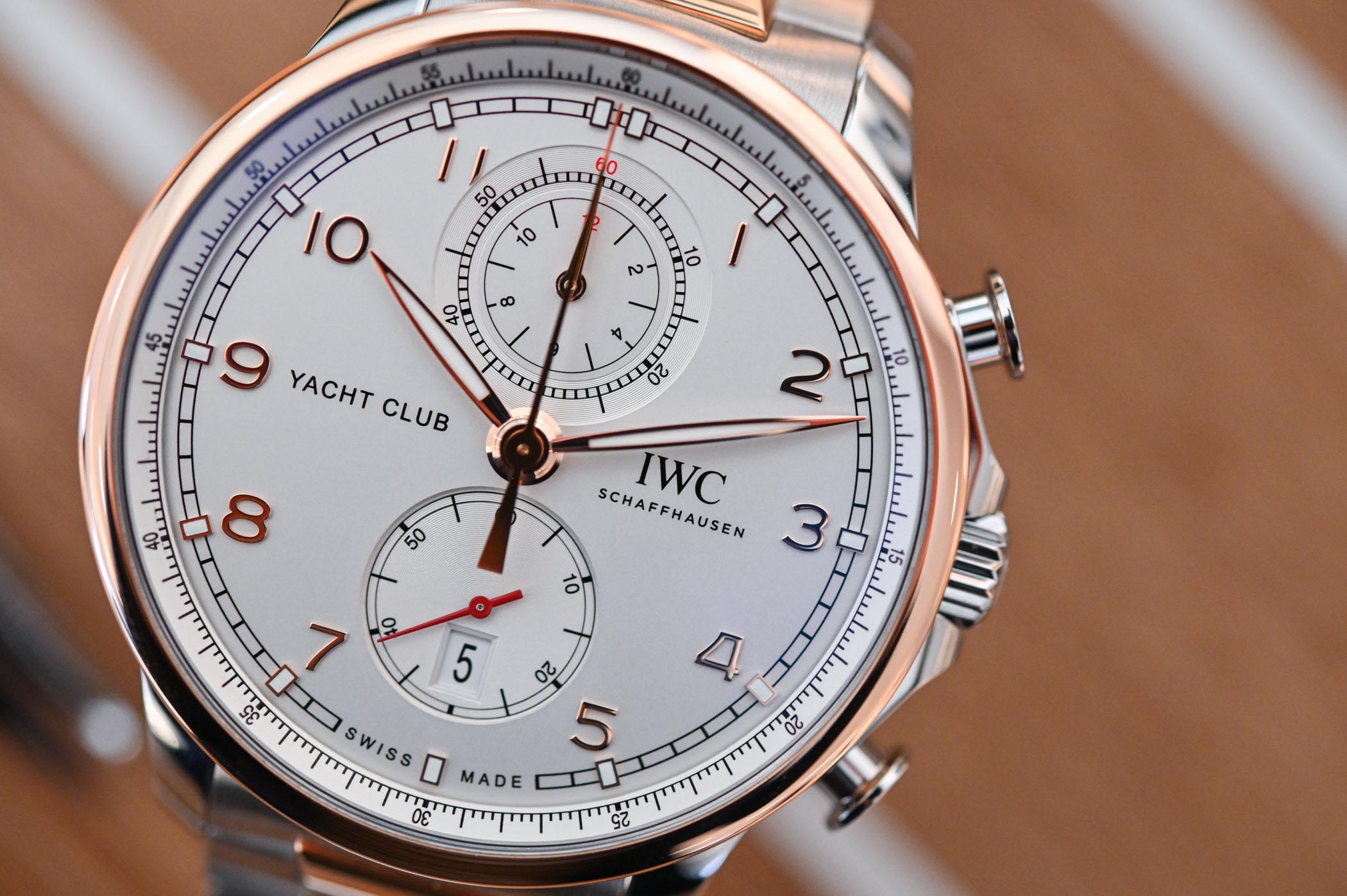 2020 IWC Portugieser Yacht Club Chronograph IW3907