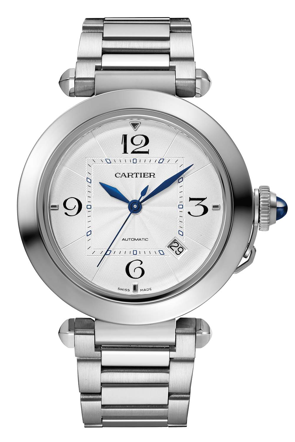 2020 Pasha de Cartier collection 41mm stainless steel