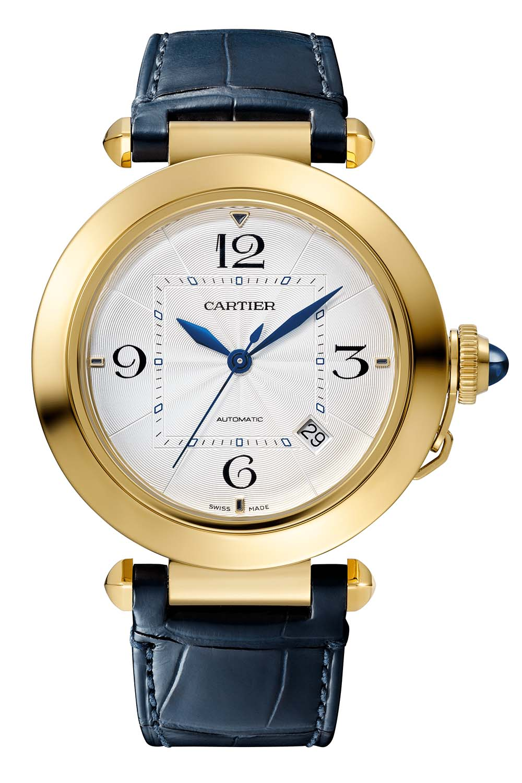 2020 Pasha de Cartier collection 41mm yellow gold