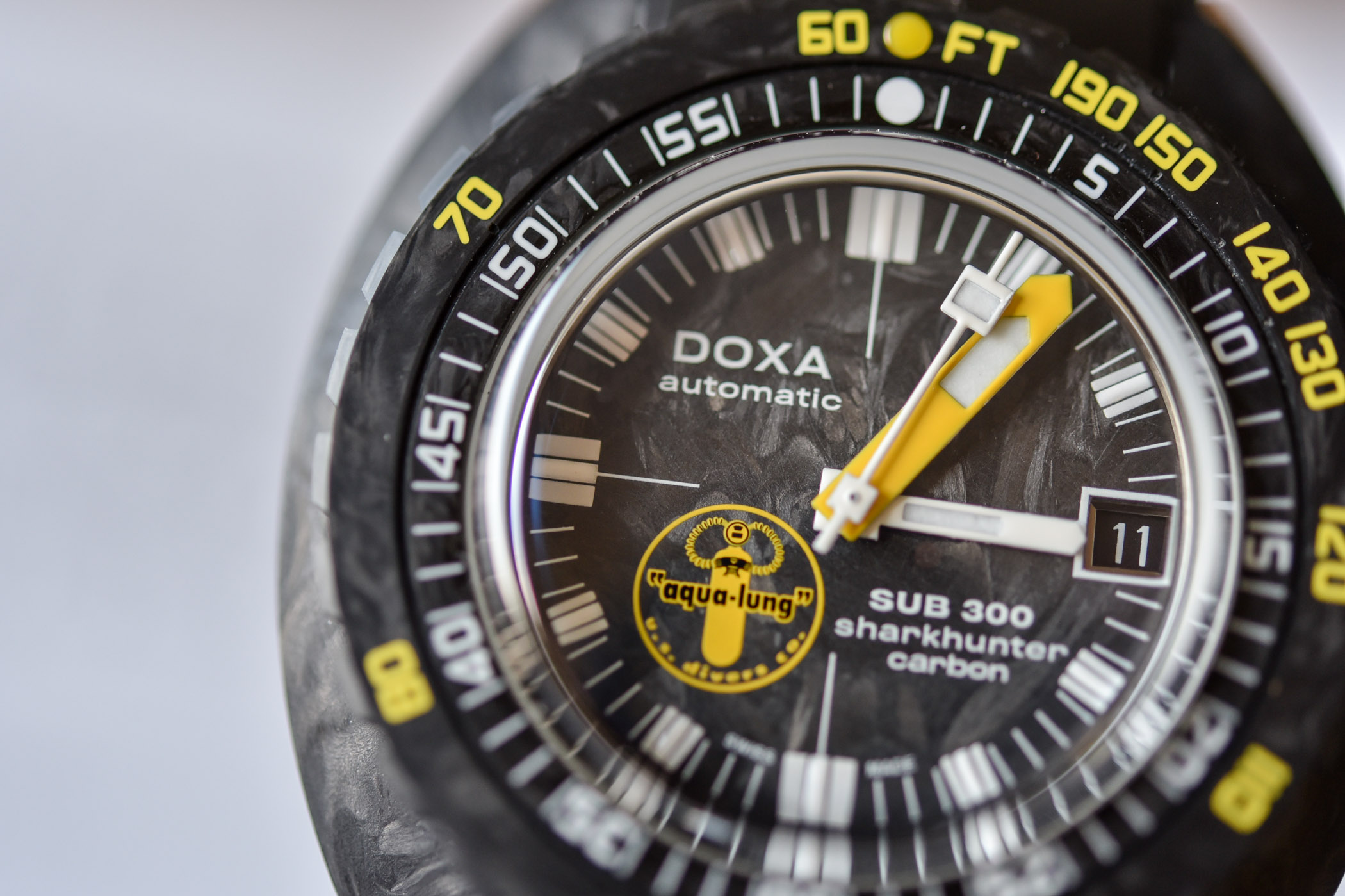 Doxa SUB 300 Carbon Aqua Lung Sharkhunter