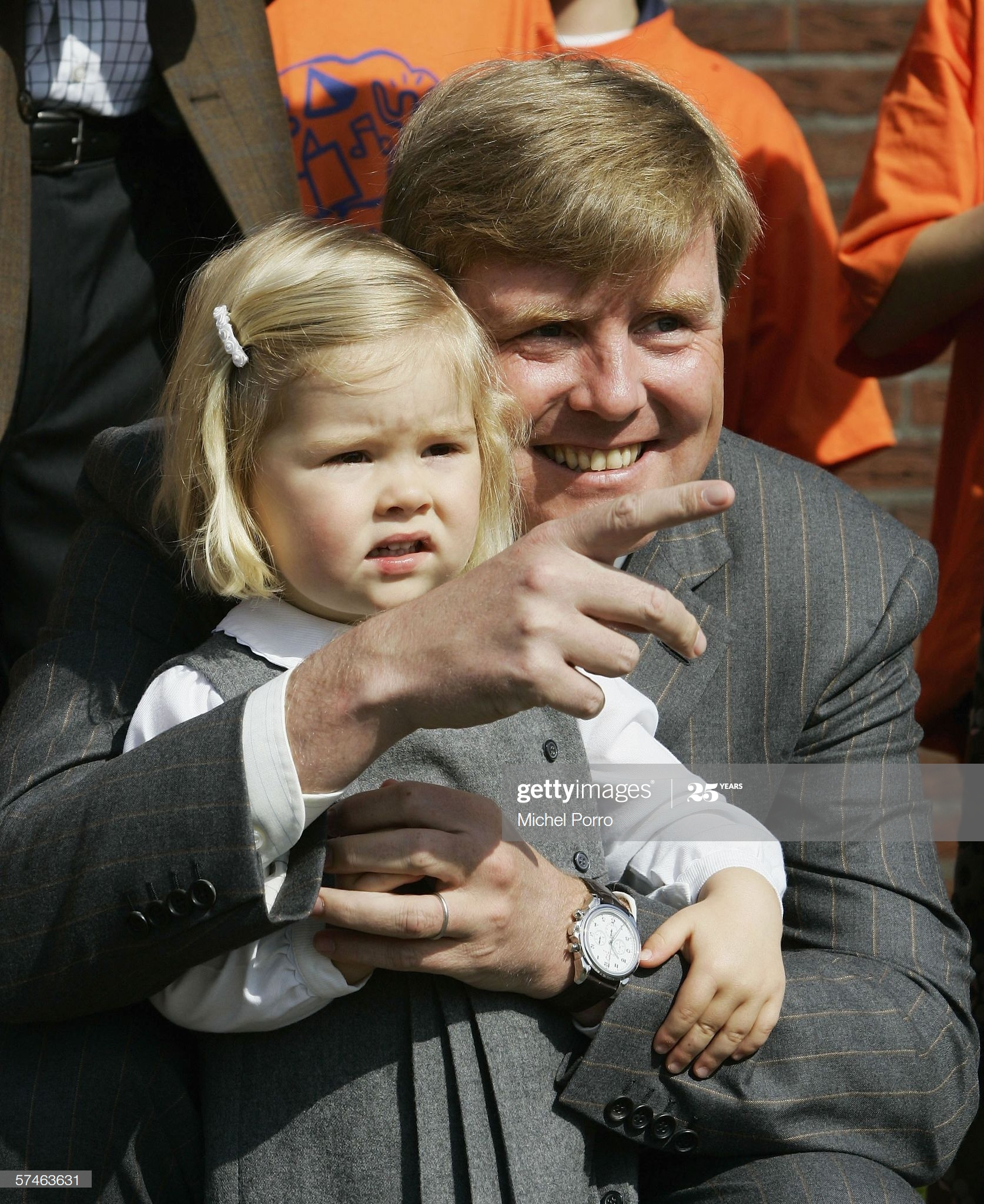 Dutch King Willem-Alexander Omega De Ville Co-Axial 41 Chronograph Olympic Collection- Koningsdag