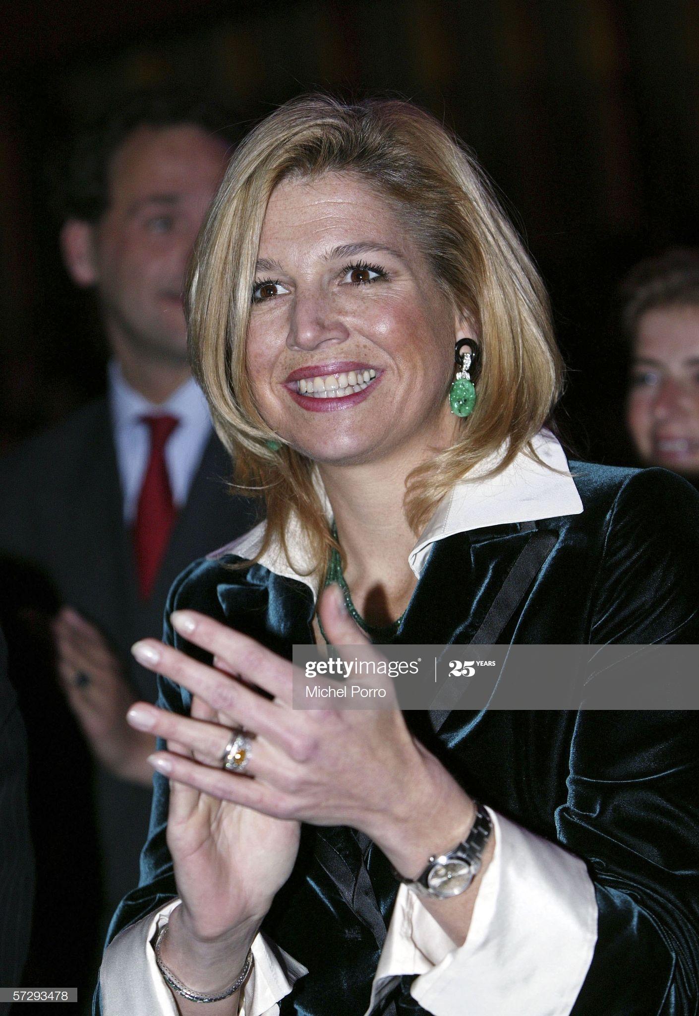 Dutch Queen Maxima Rolex Datejust- Koningsdag