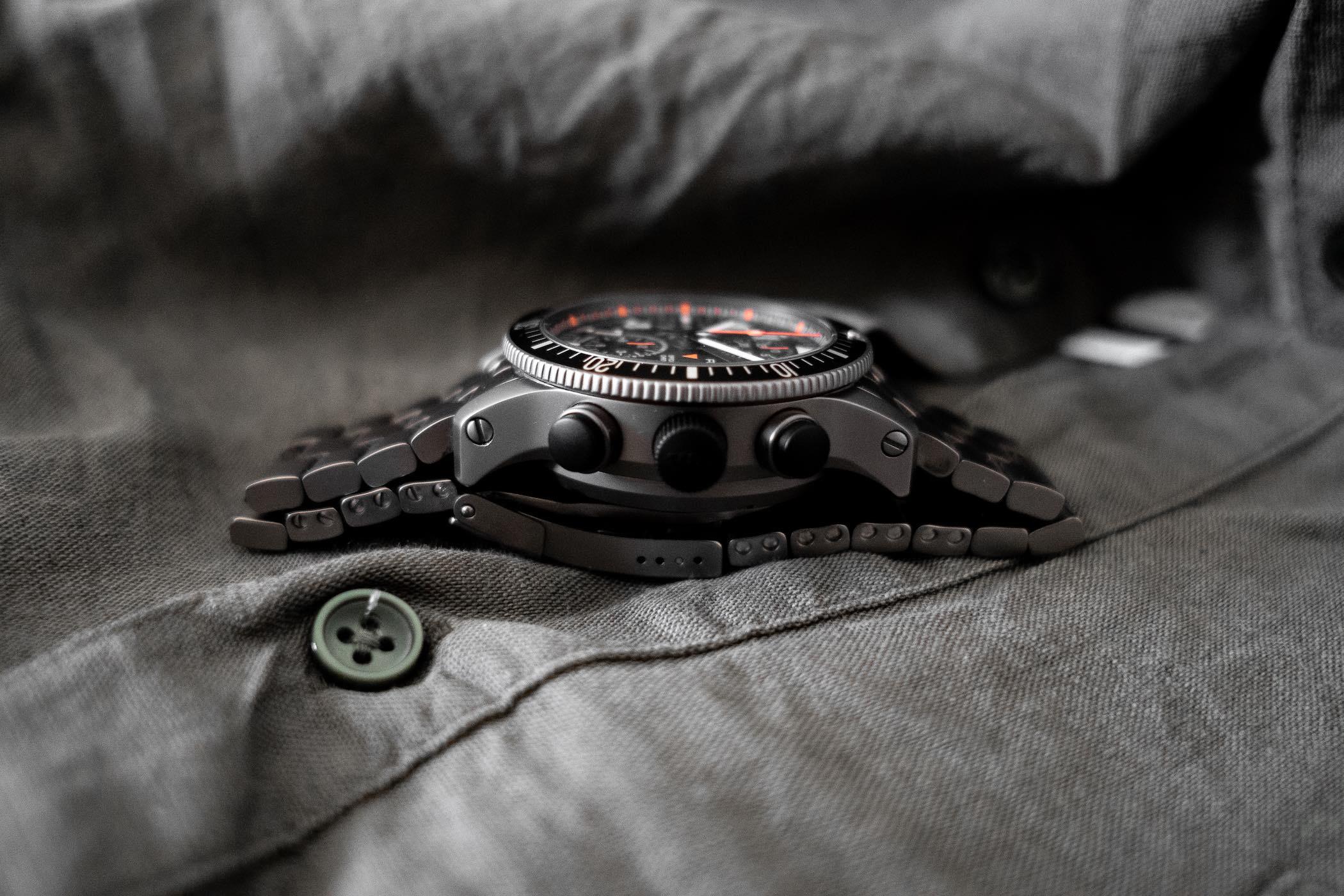 Fortis Official Cosmonauts Titanium Alarm Chronograph
