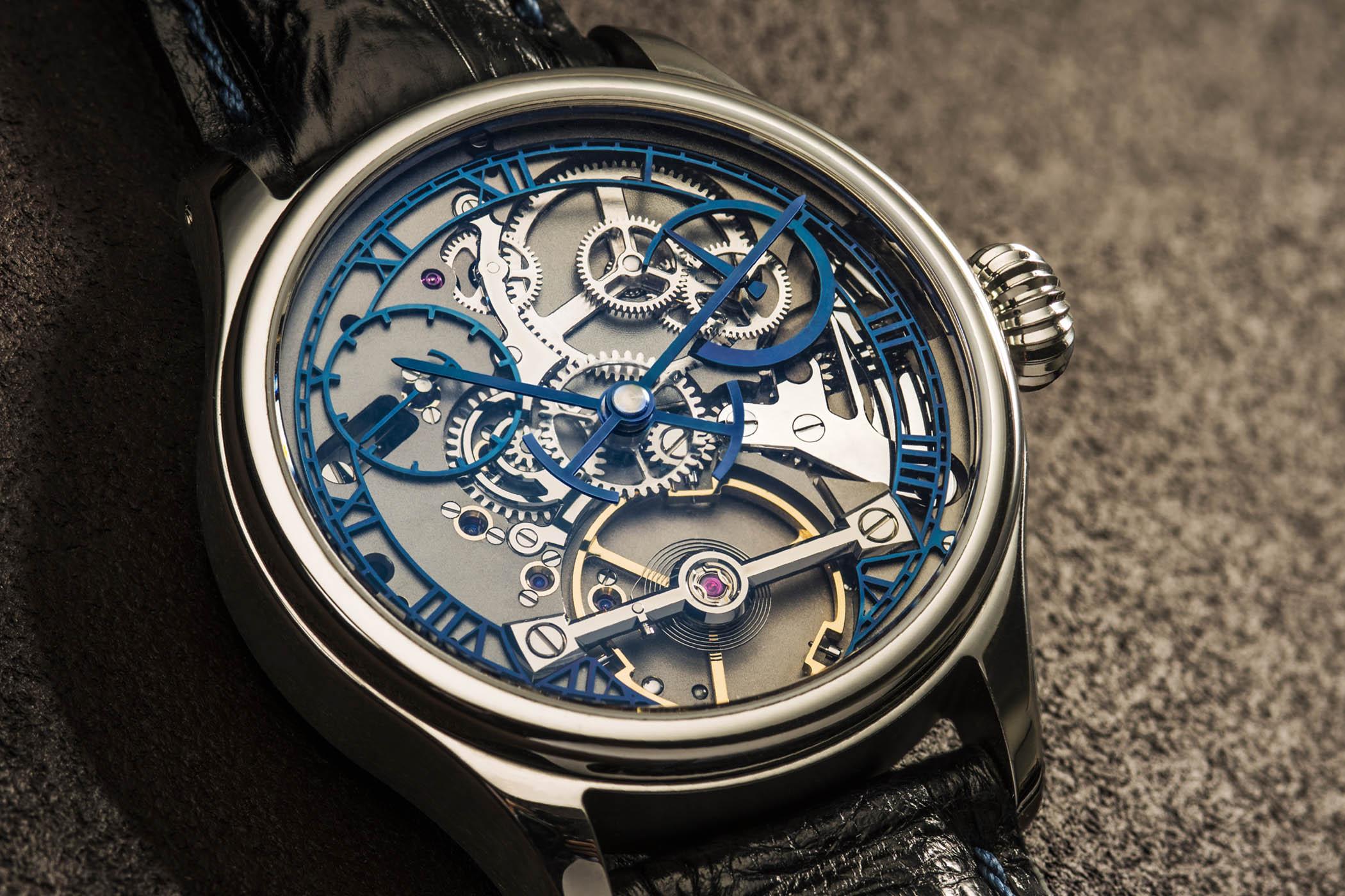 Garrick S3 English watchmaking