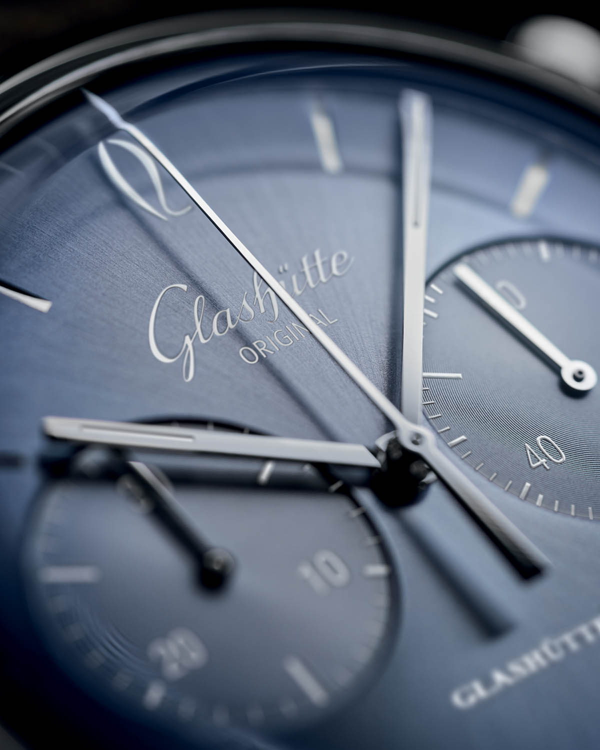 Glashutte Original Sixties and Sixities Chronograph Annual Edition 2020 Glacier Blue - 1