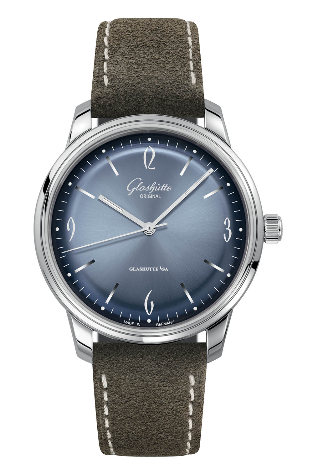 Glashutte Original Sixties and Sixities Chronograph Annual Edition 2020 Glacier Blue - 7
