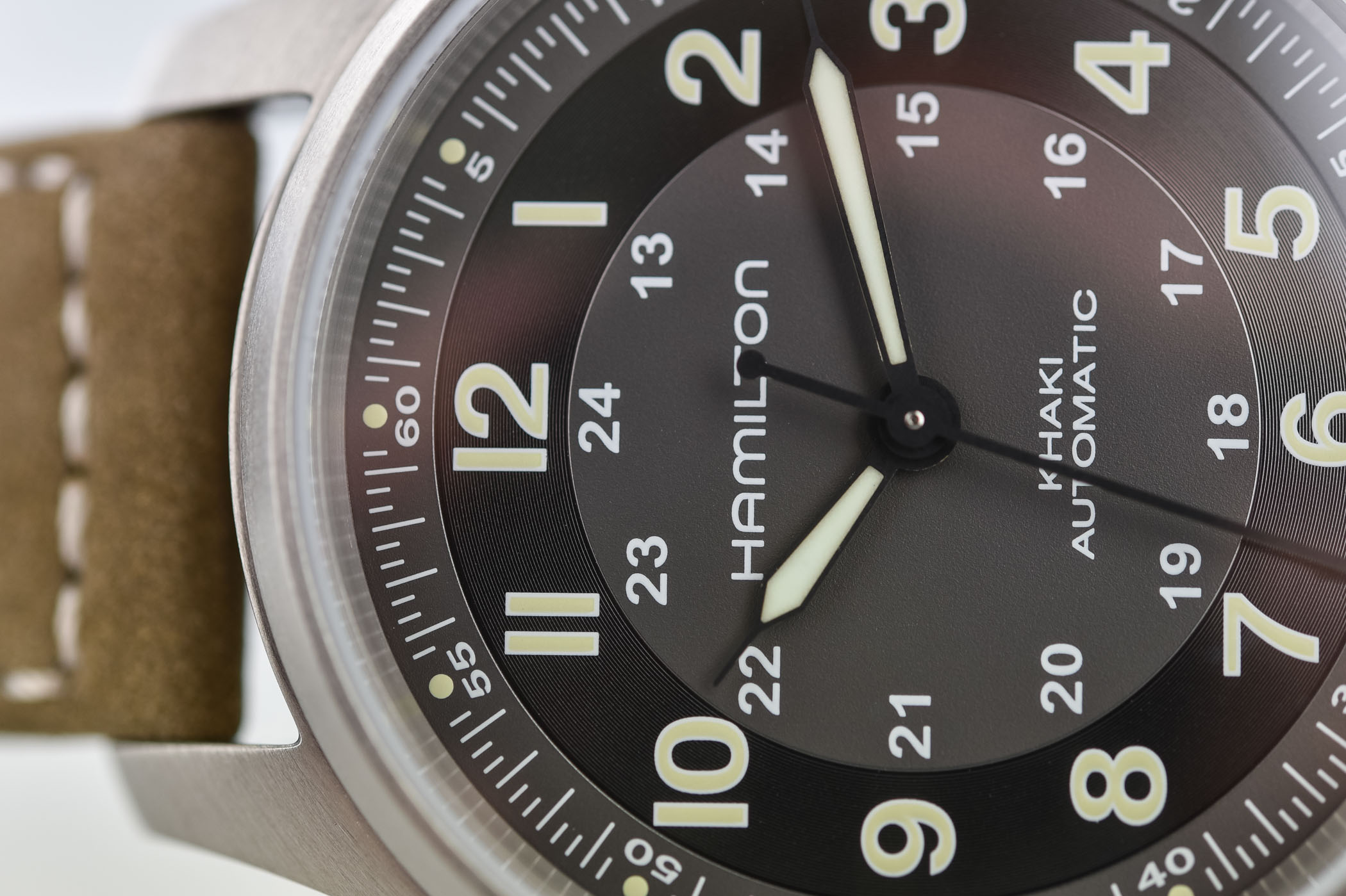 Hamilton Khaki Field Titanium Automatic - H70545550