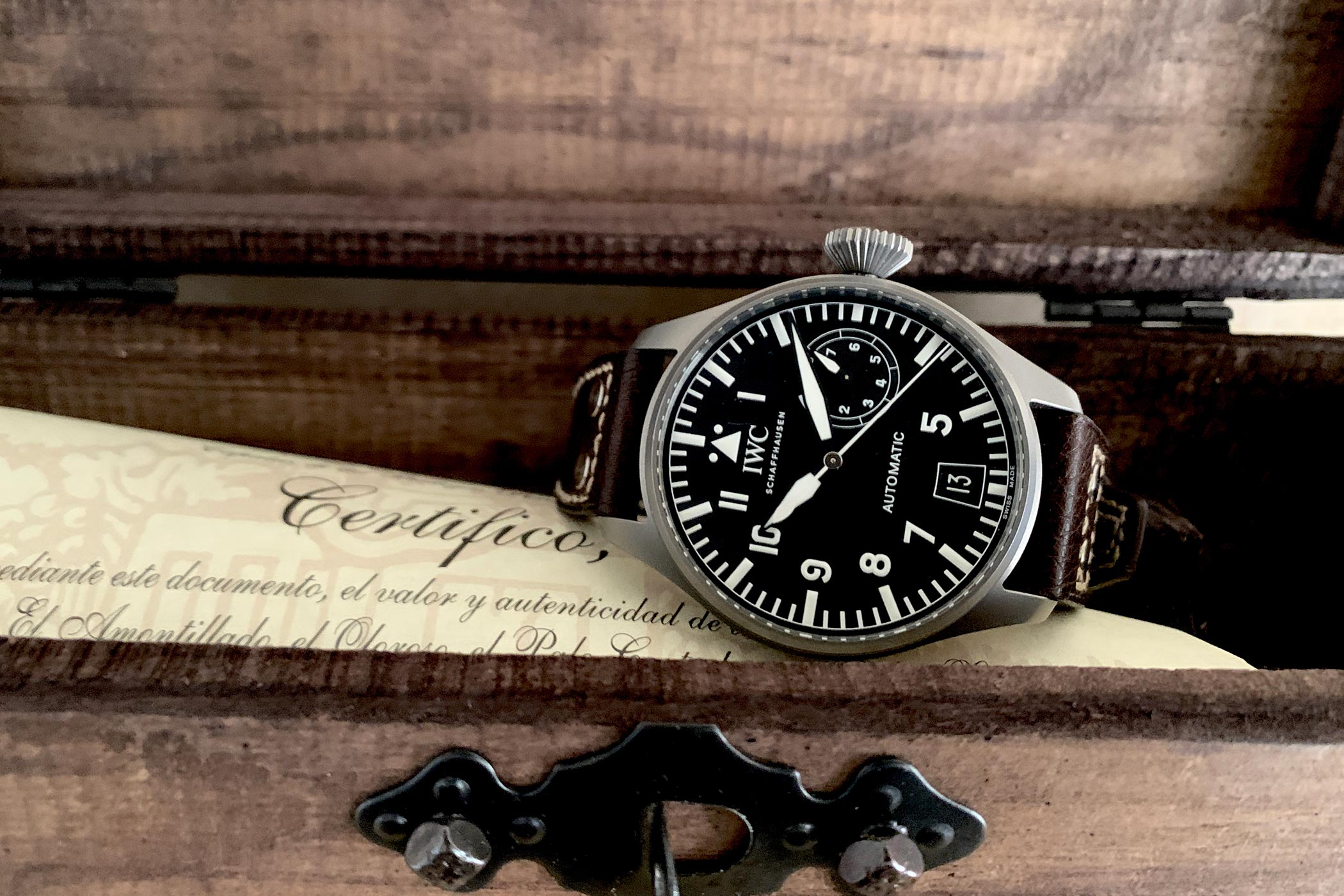 IWC Big Pilot 5010-07 Safari