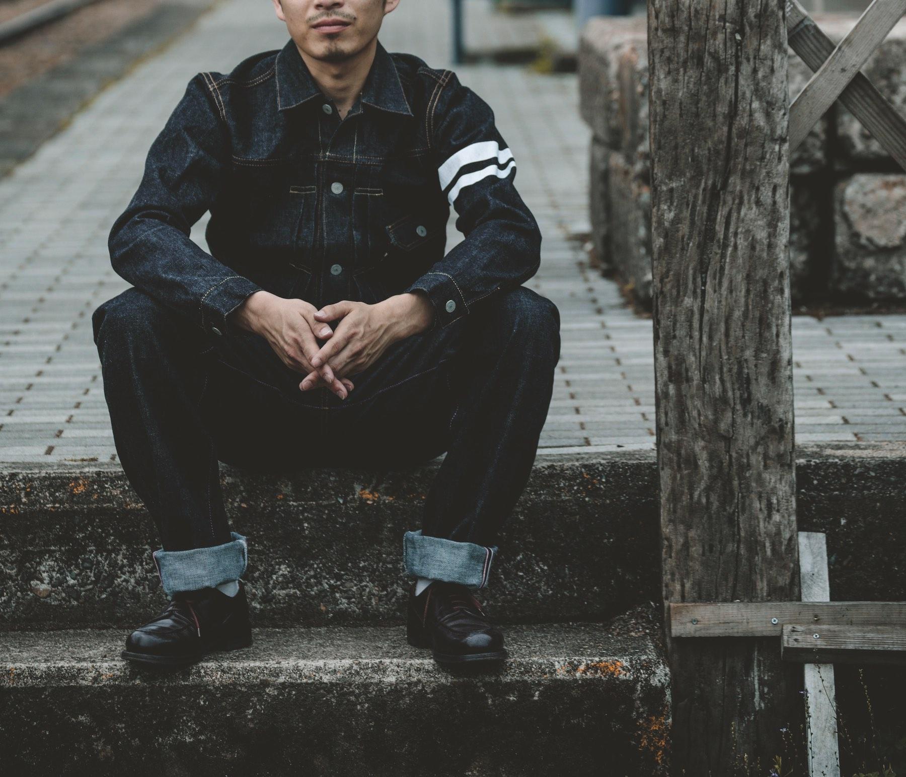Oris x Momotaro Jeans Divers Sixty-Five