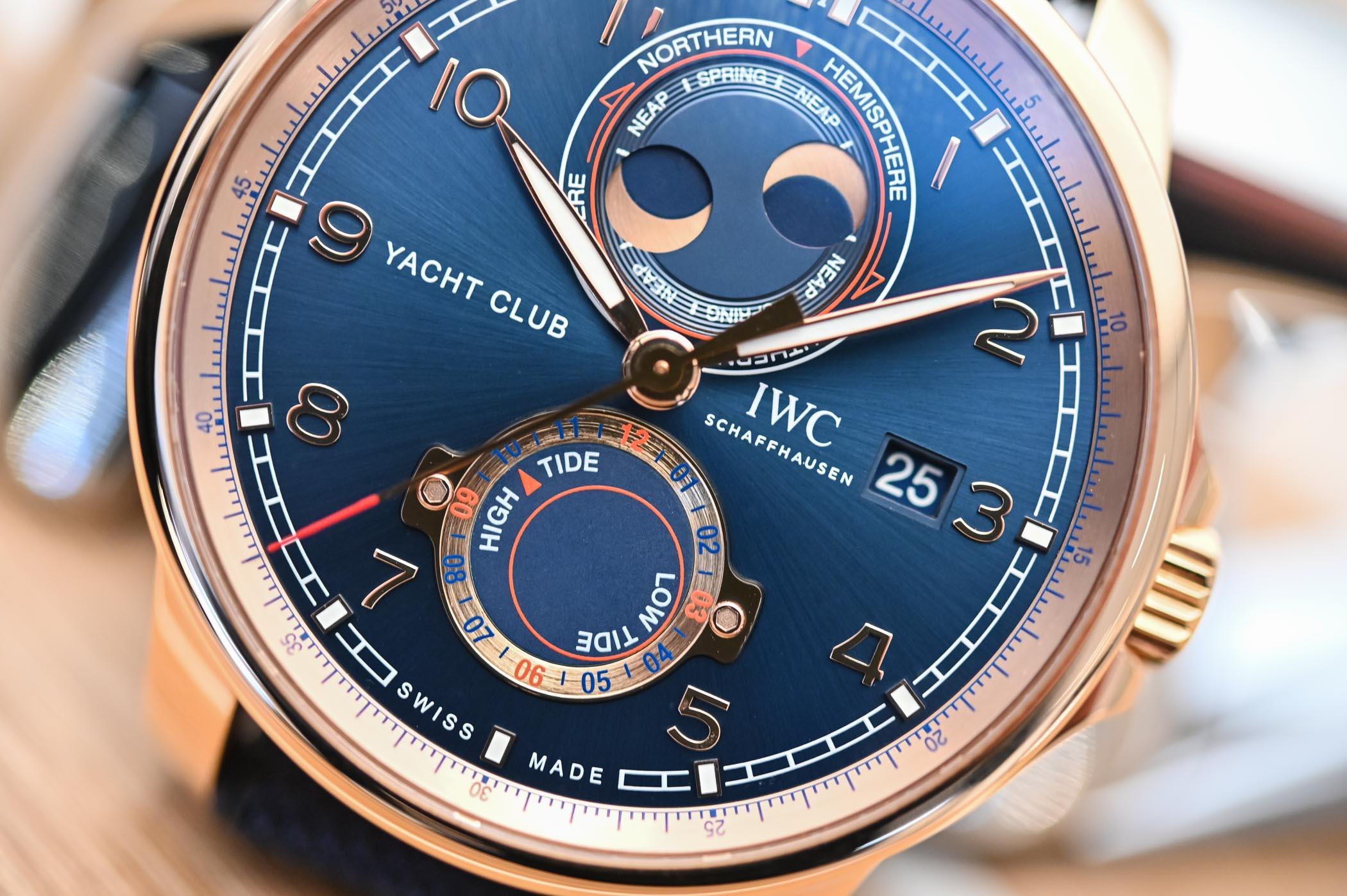 Portugieser Yacht Club Moon & Tide - IW344001