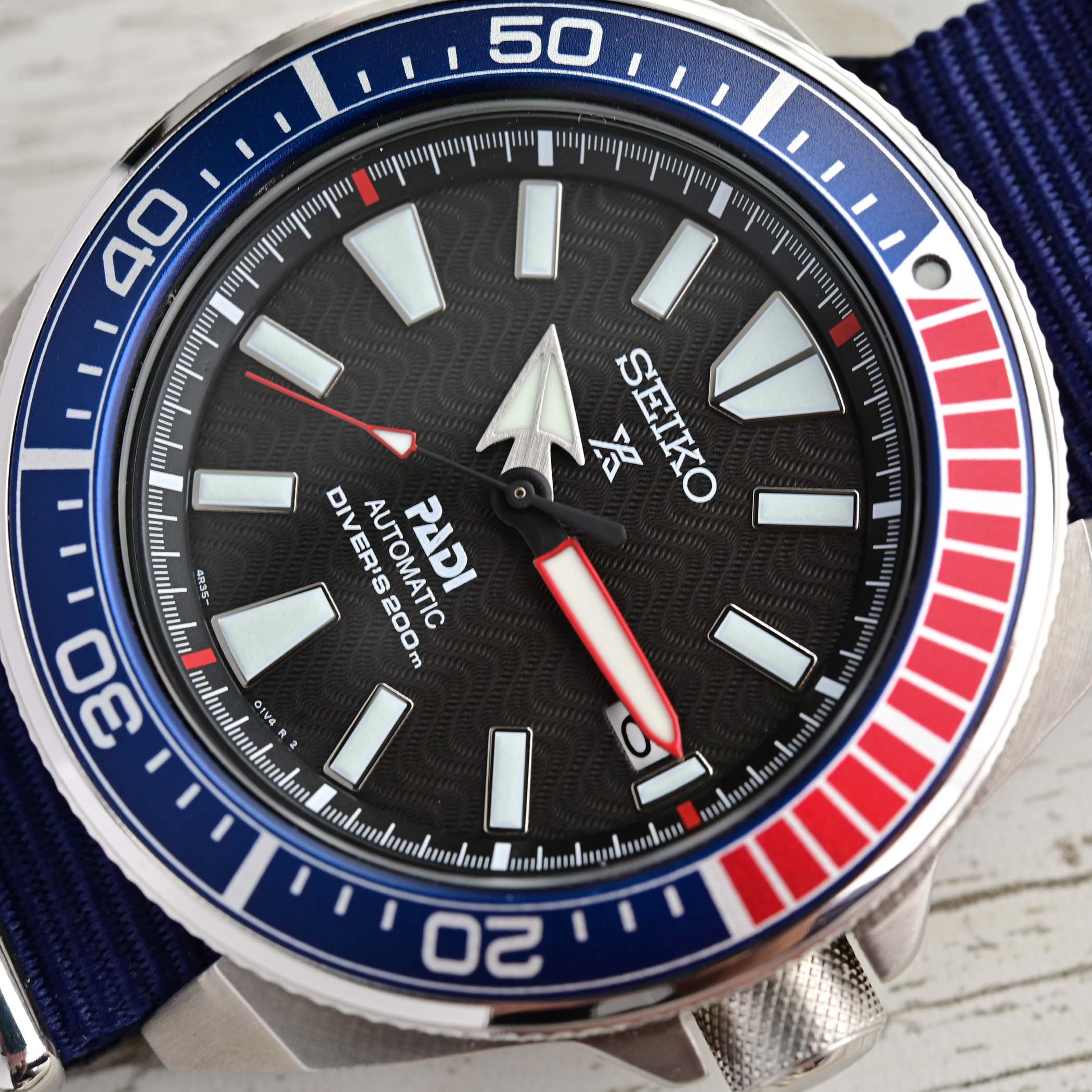 Seiko Prospex Diver Samurai PADI SRPB99K1