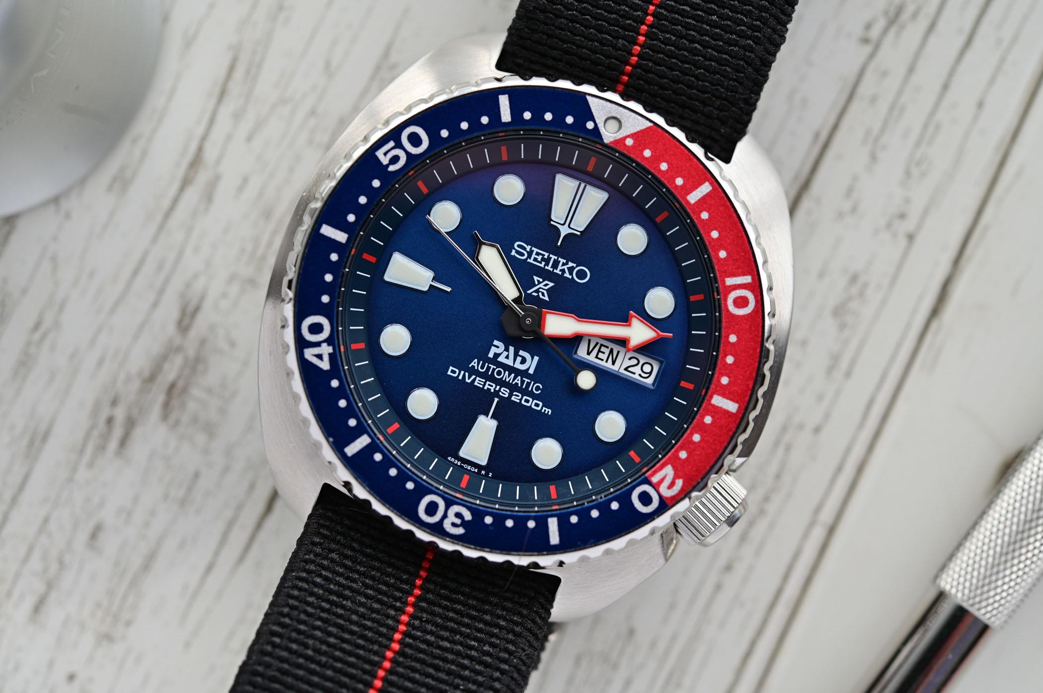 Seiko Prospex Diver Turtle PADI SRPA21K1