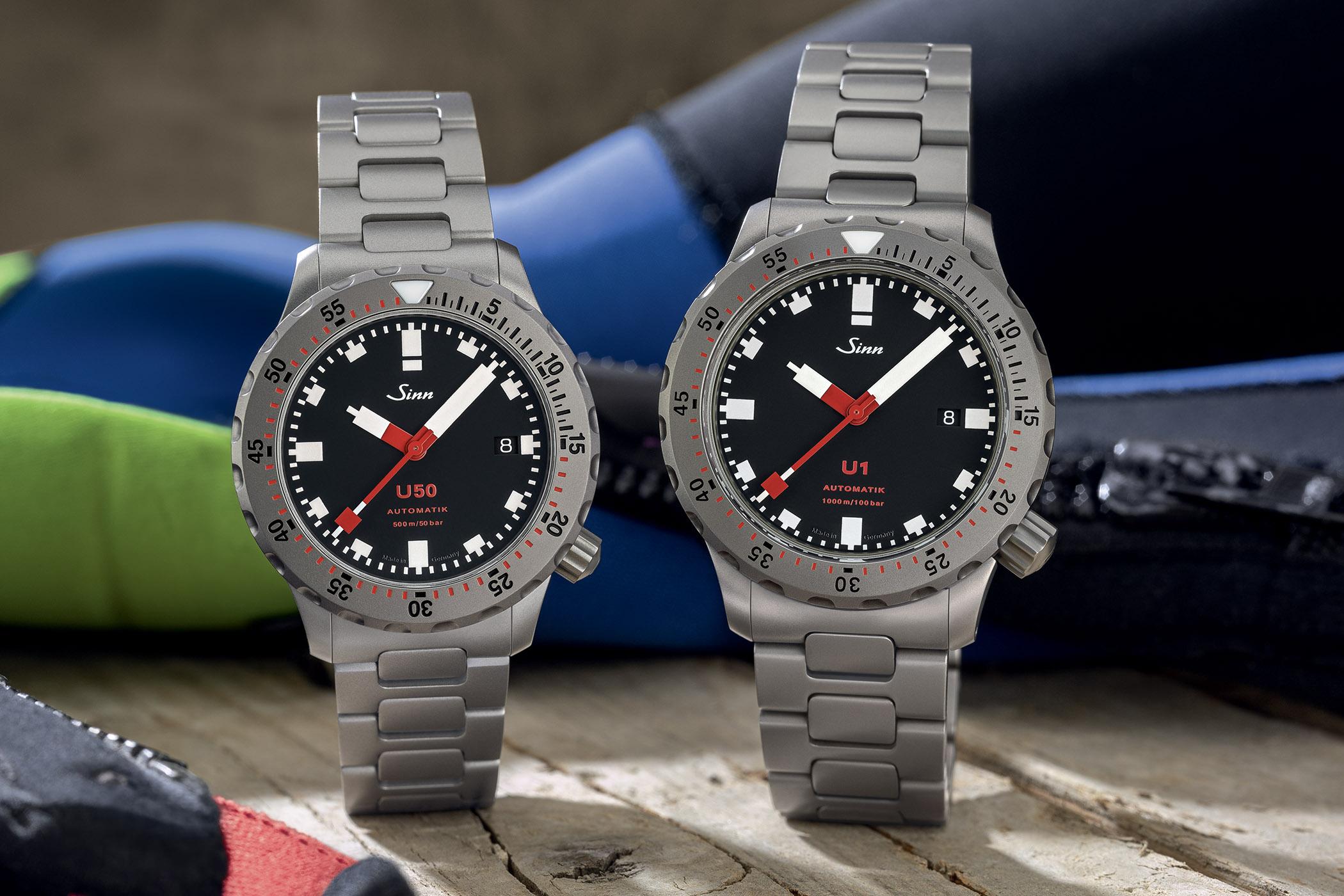Sinn Dive Watch U1 vs U50