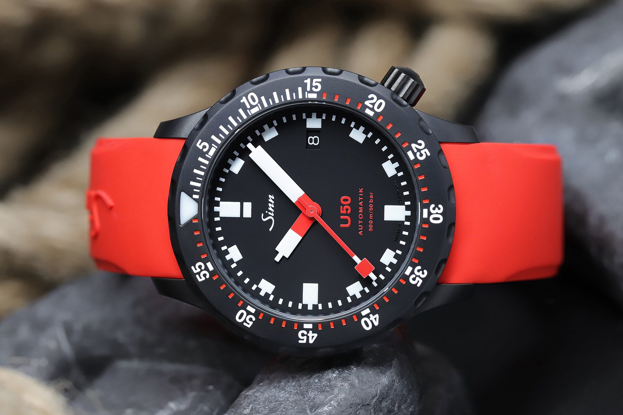 Sinn U50 S German Submarine Steel Dive Watch
