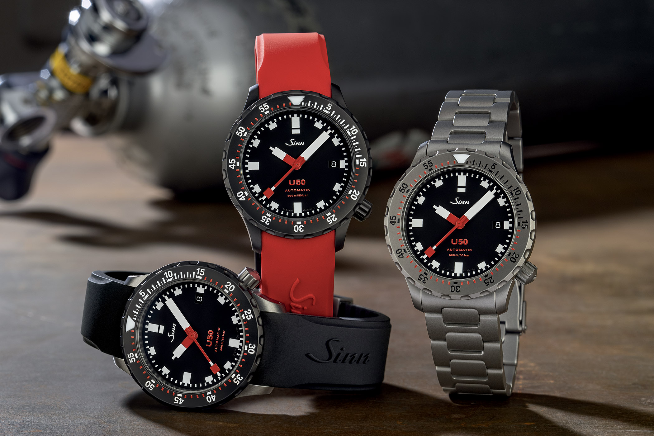 Sinn U50 - U50S - U50SDR - Dive Watch