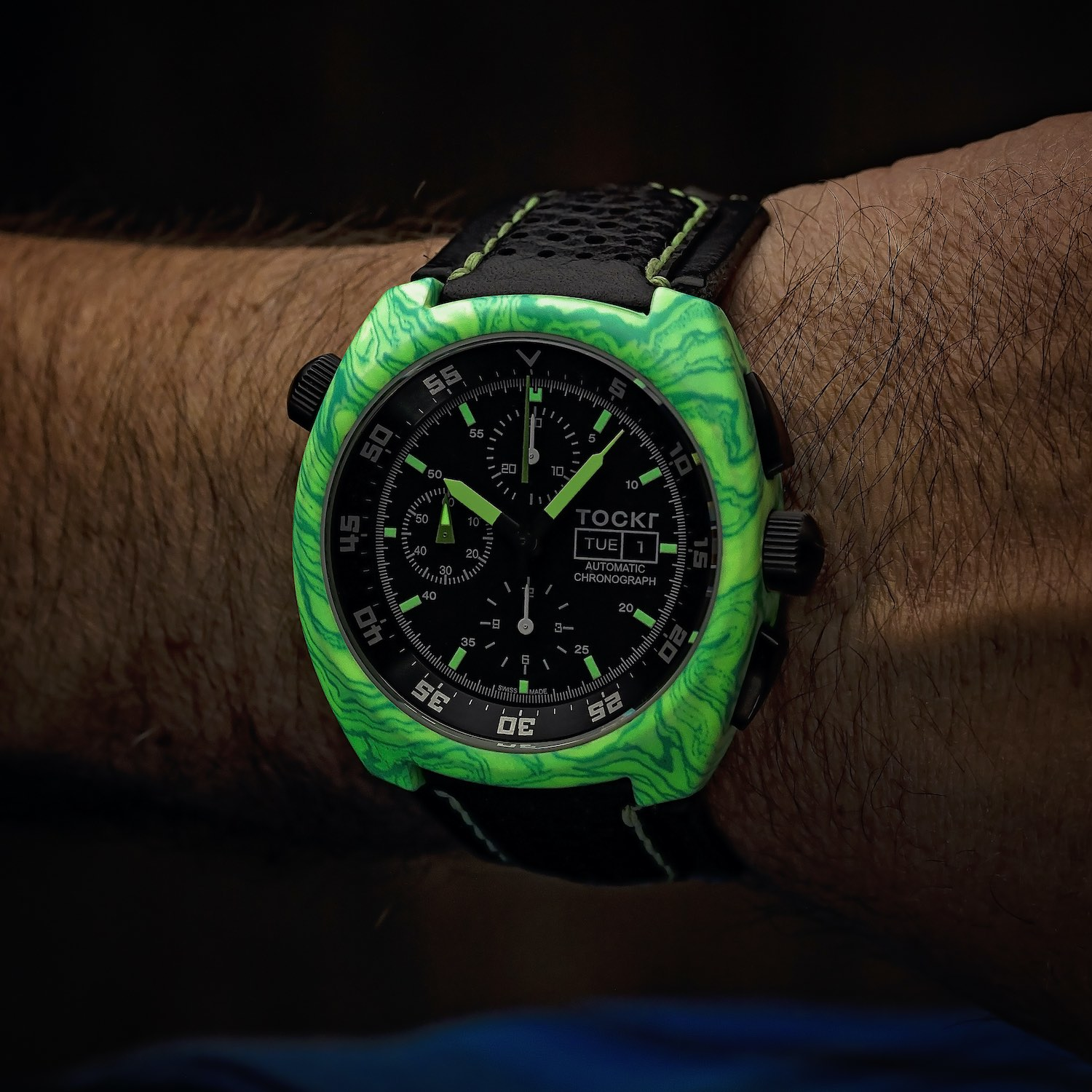 Tockr Air-Defender Lume with Luminescent Hydro Dipped Cases - 3