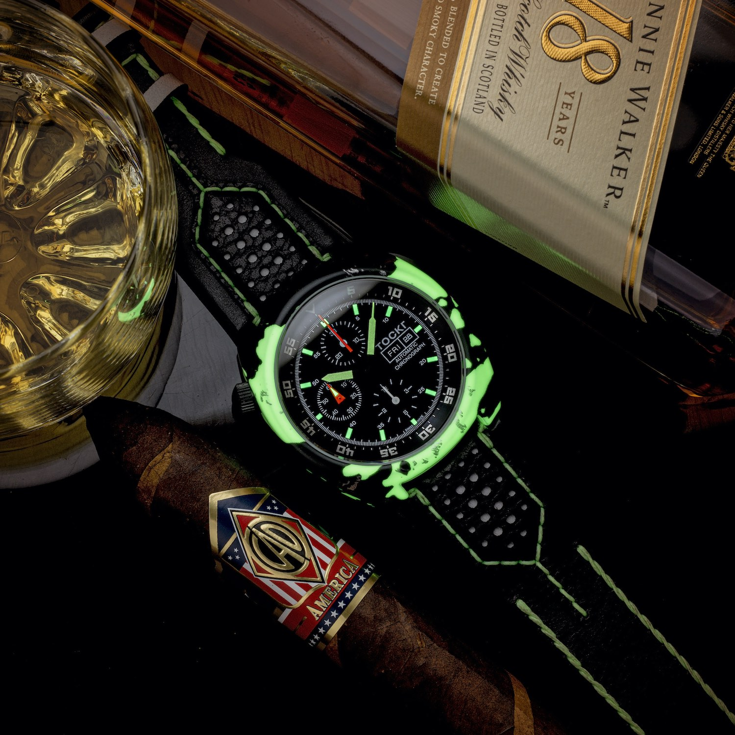 Tockr Air-Defender Lume with Luminescent Hydro Dipped Cases - 5