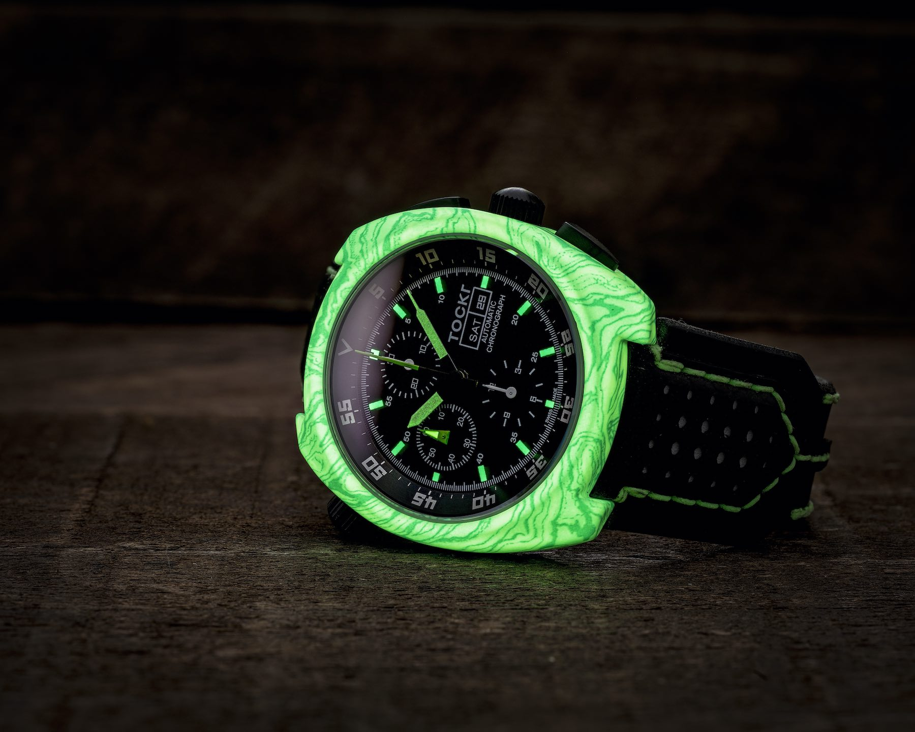 Tockr Air-Defender Lume with Luminescent Hydro Dipped Cases - 7