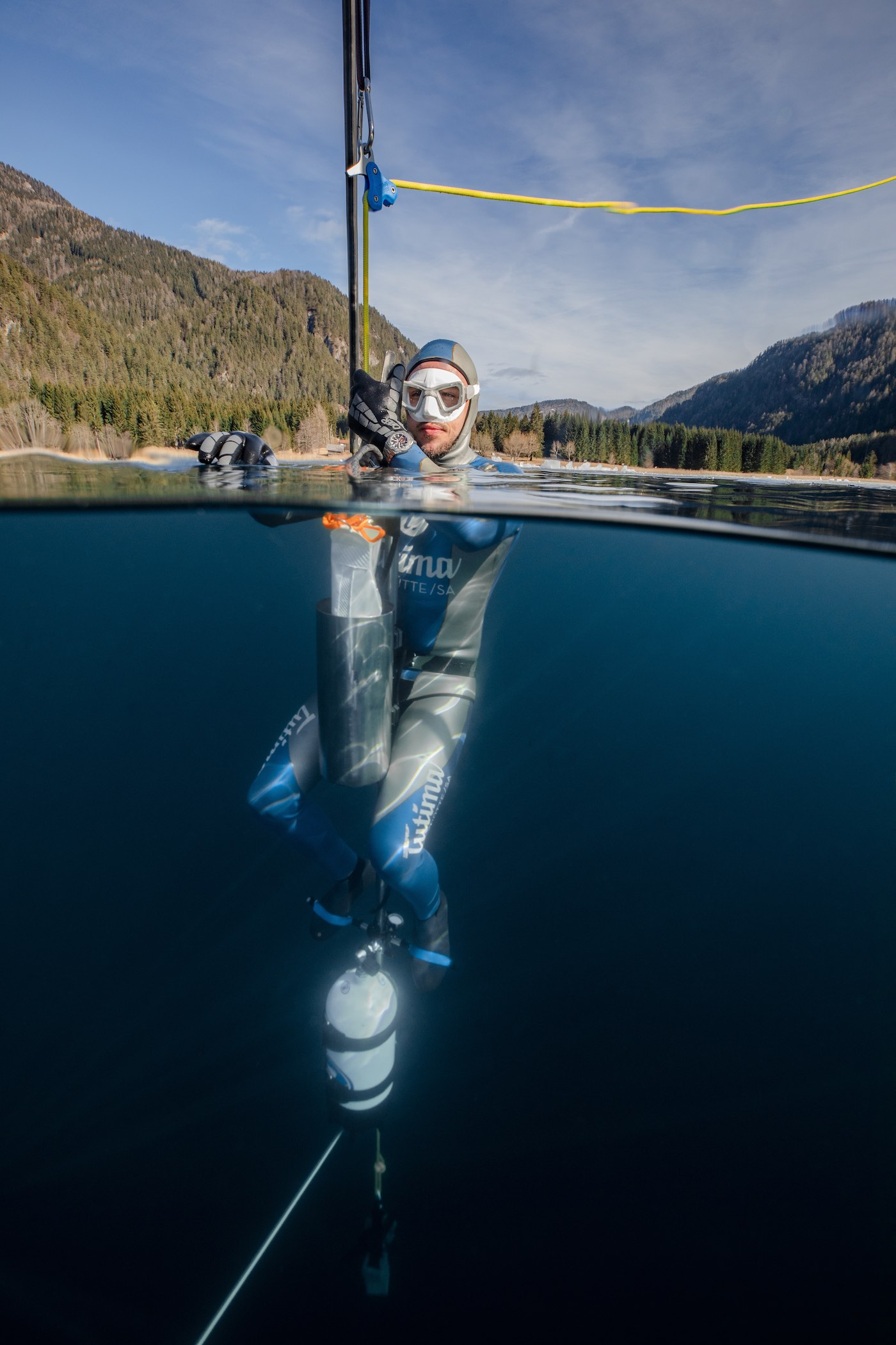 Tutima Watches - Tolga Taskin Freedive World Record