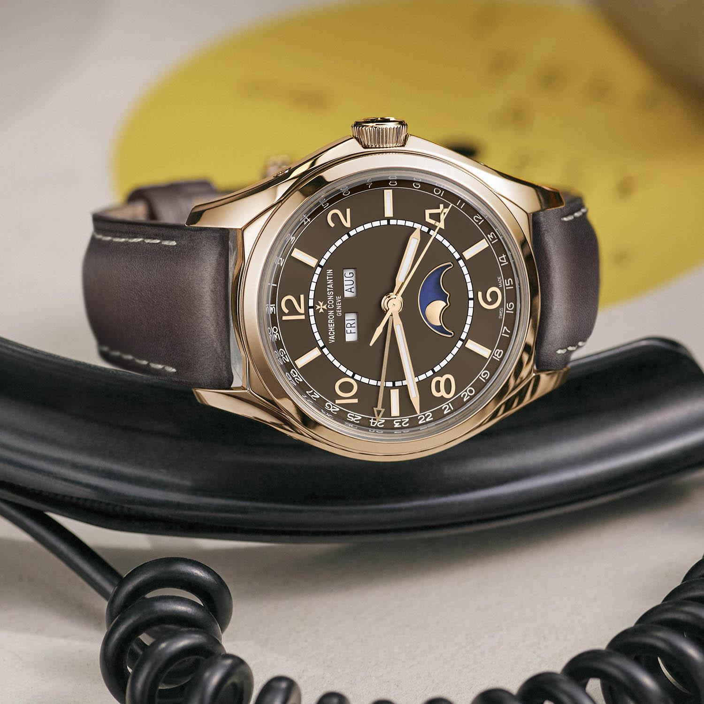 Vacheron Constantin FiftySix Sepia Brown Dial