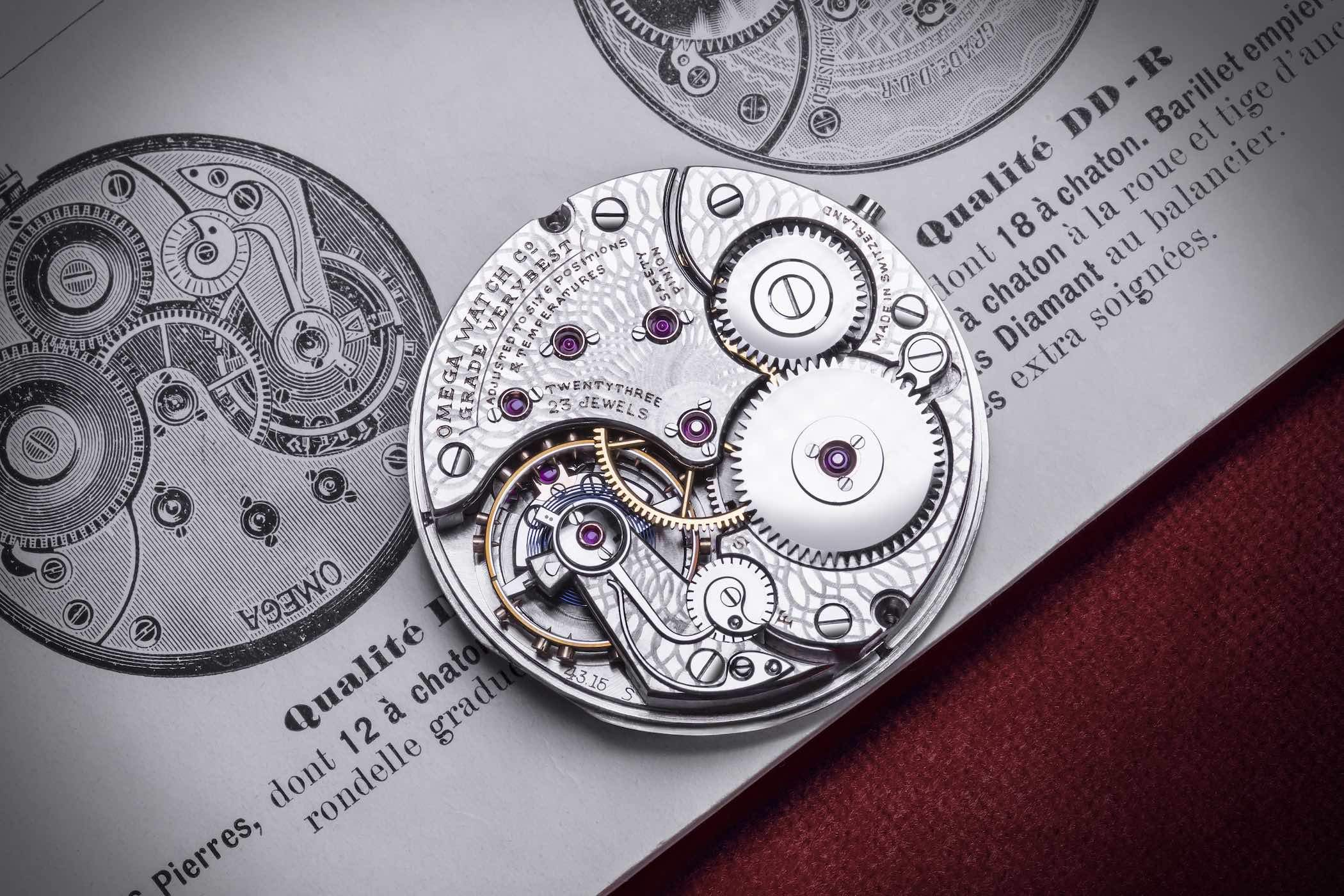 ligne watchmaking