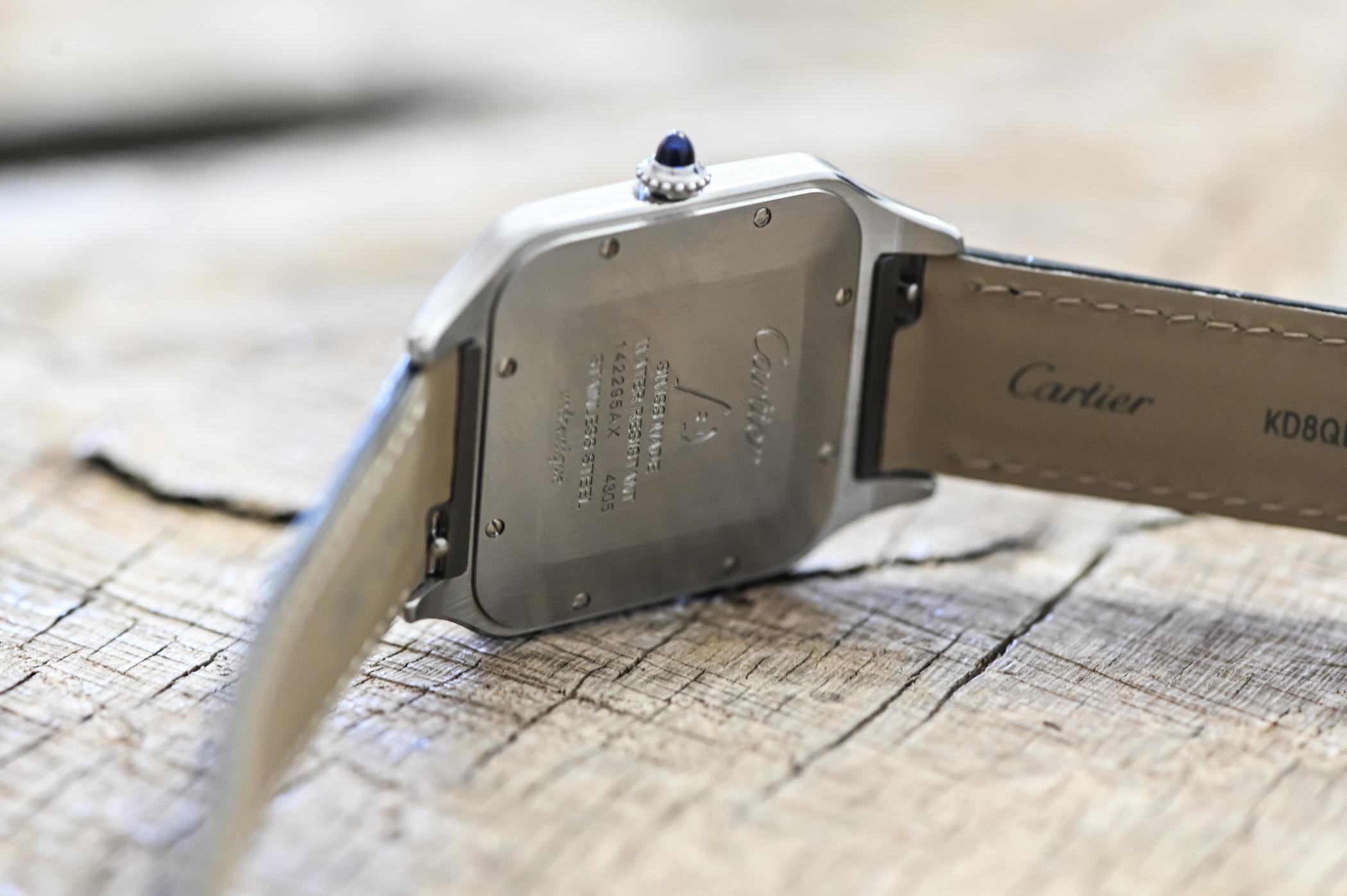 2020 Cartier Santos-Dumont XL Hand-Wind