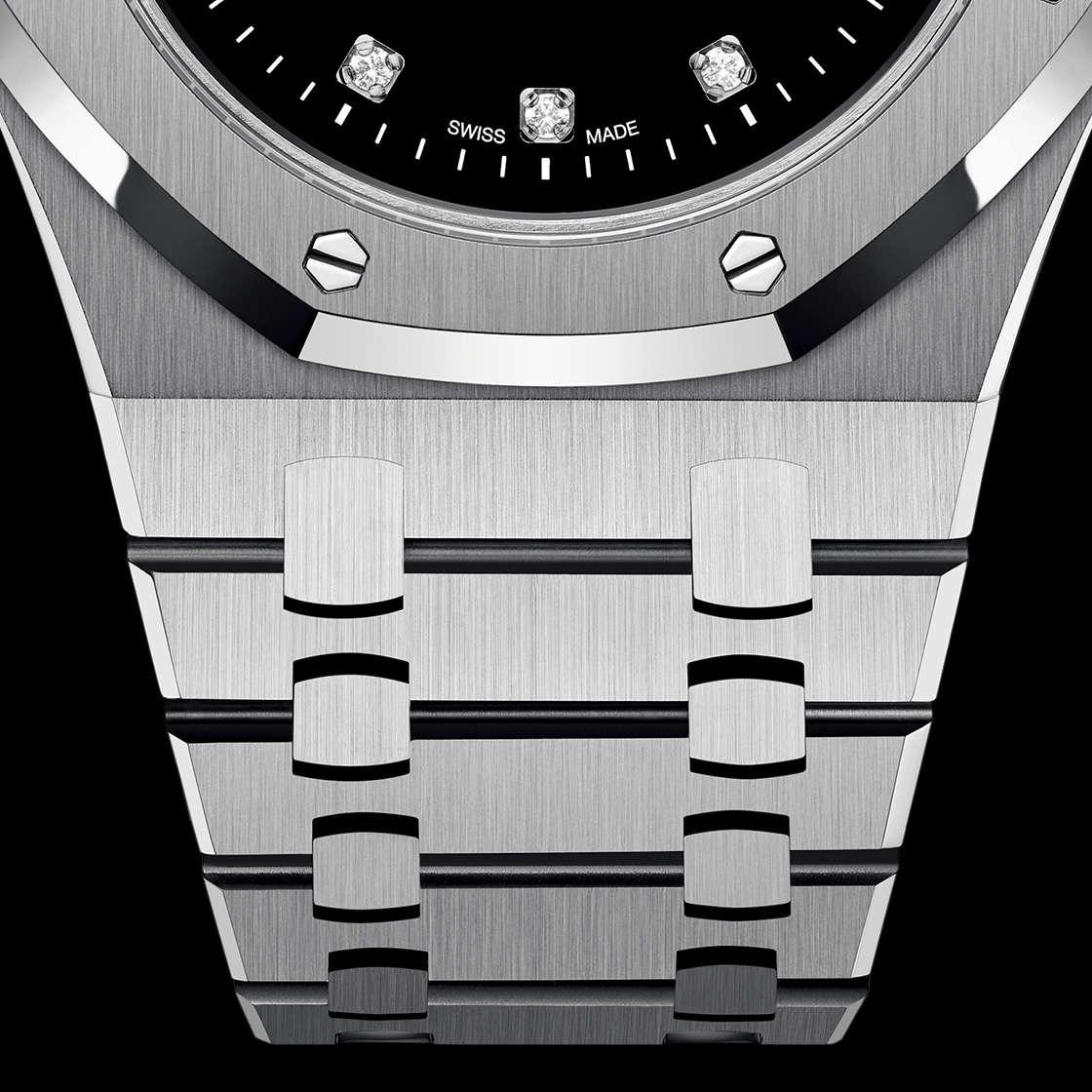 Audemars Piguet Royal Oak Jumbo Extra-Thin Yoshida Platinum Diamond Dial 15206PT