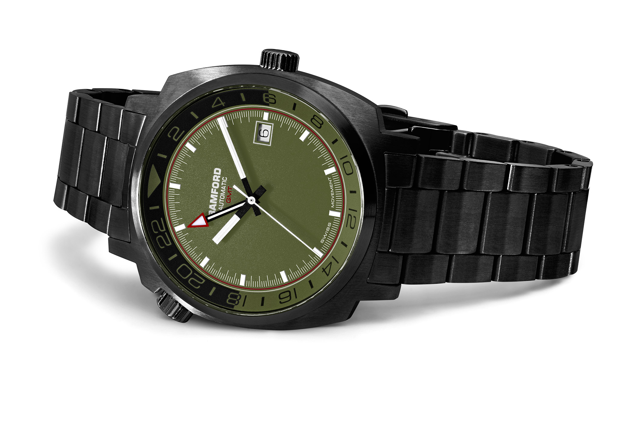 Bamford London Commando GMT DLC Black