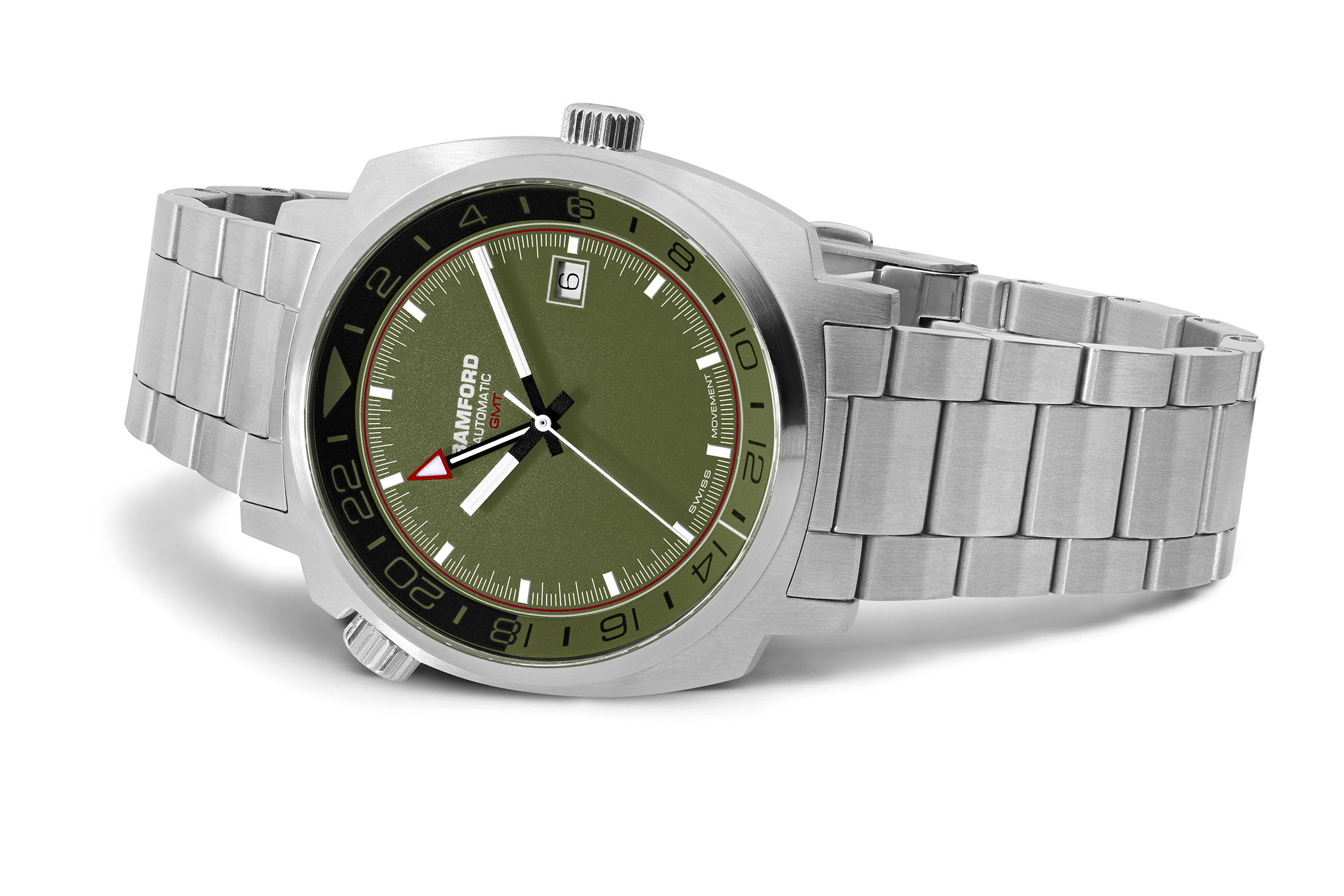 Bamford London Commando GMT Steel