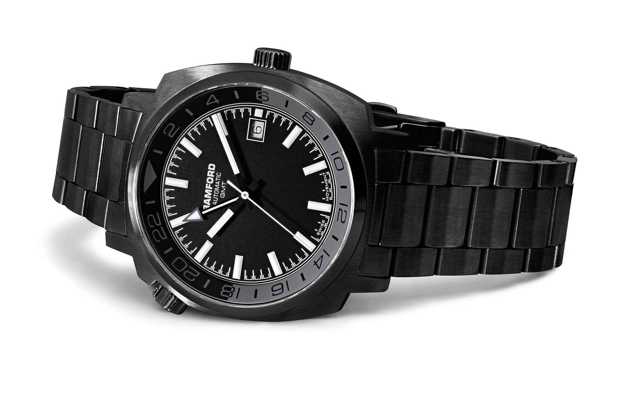 Bamford London Predator GMT DLC Black