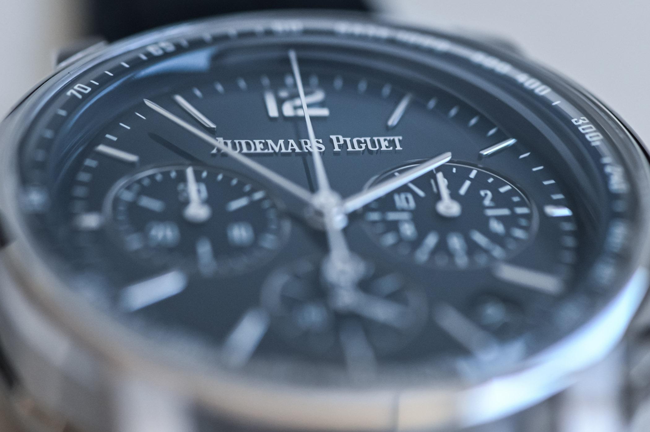 Code 11.59 by Audemars Piguet Selfwinding Chronograph Review - dial