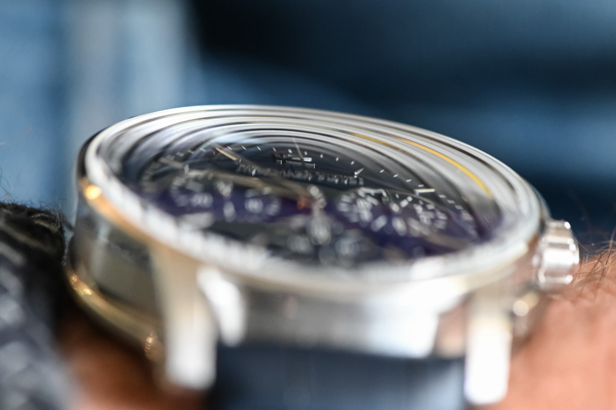 Code 11.59 by Audemars Piguet Selfwinding Chronograph Review - crystal