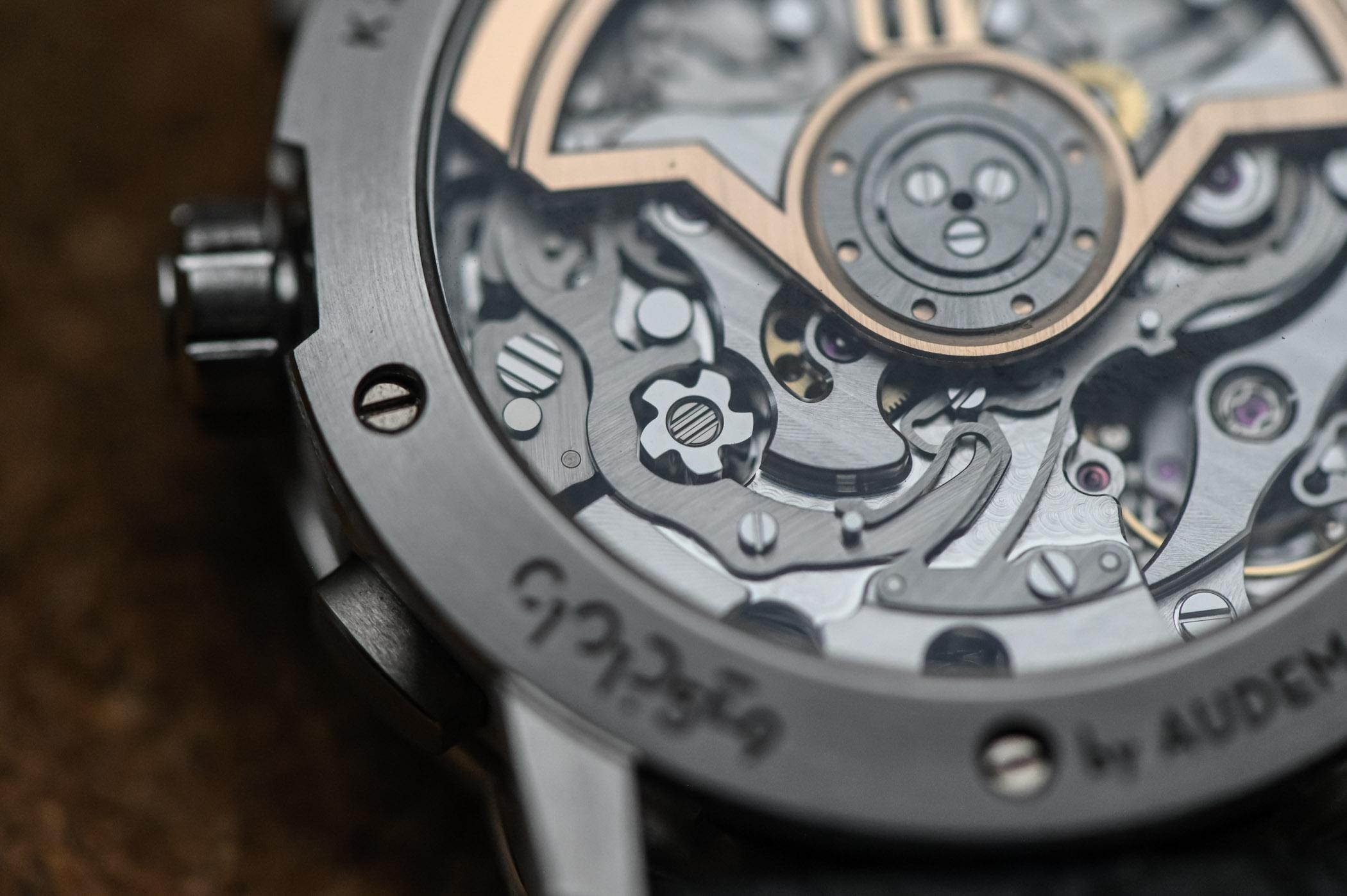 Code 11.59 by Audemars Piguet Selfwinding Chronograph Review Calibre 4401