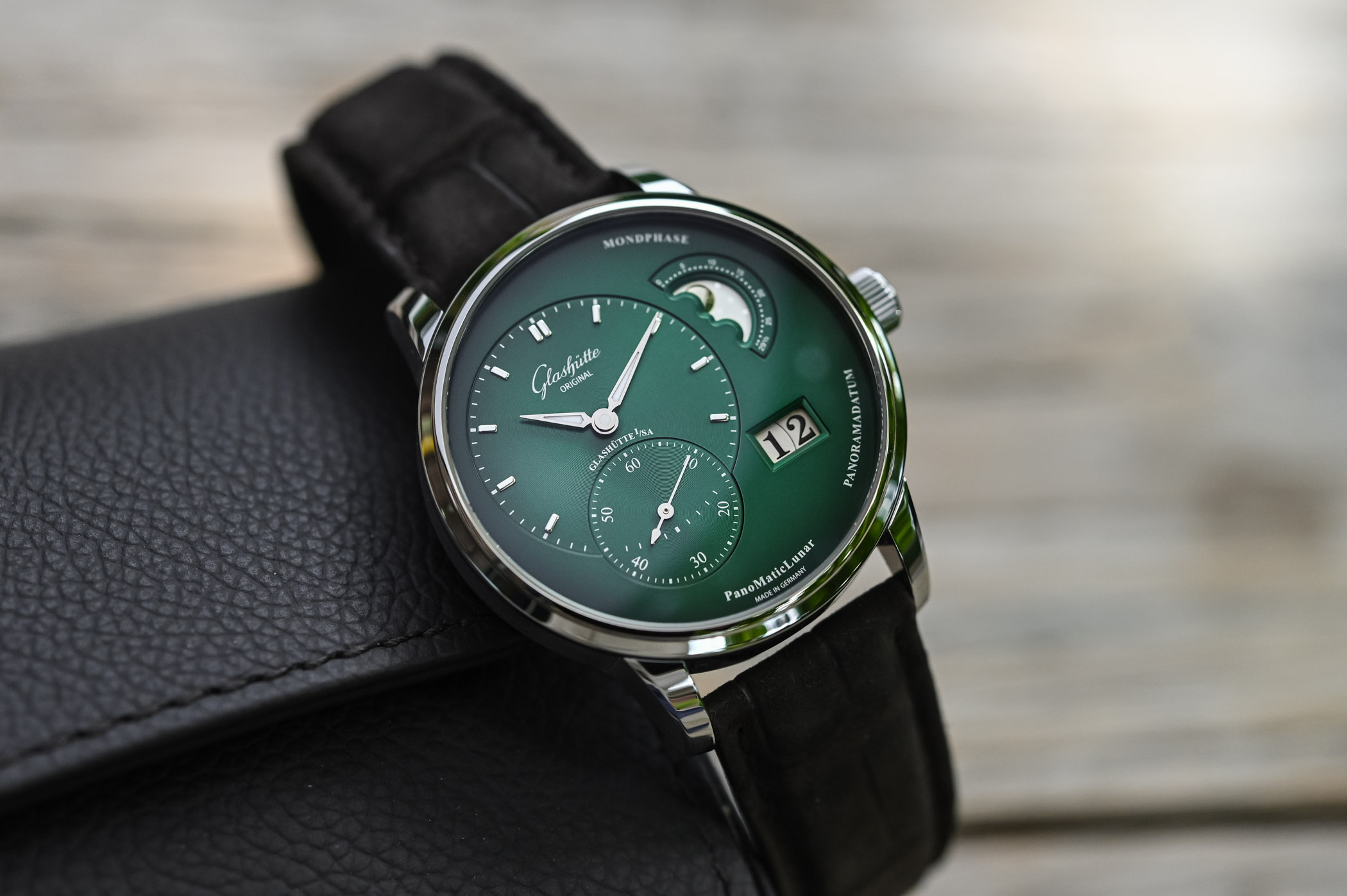 Glashütte Original PanoMaticLunar Forest Green