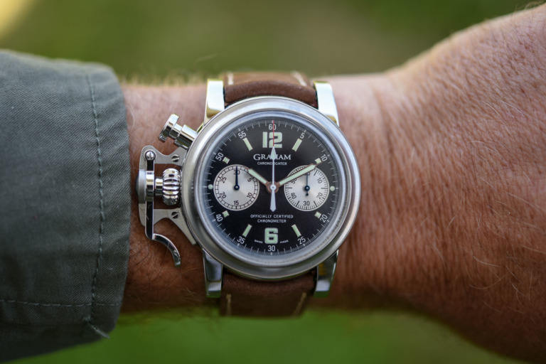 Graham Chronofighter Vintage 25th Anniversary - Hands-On, Price